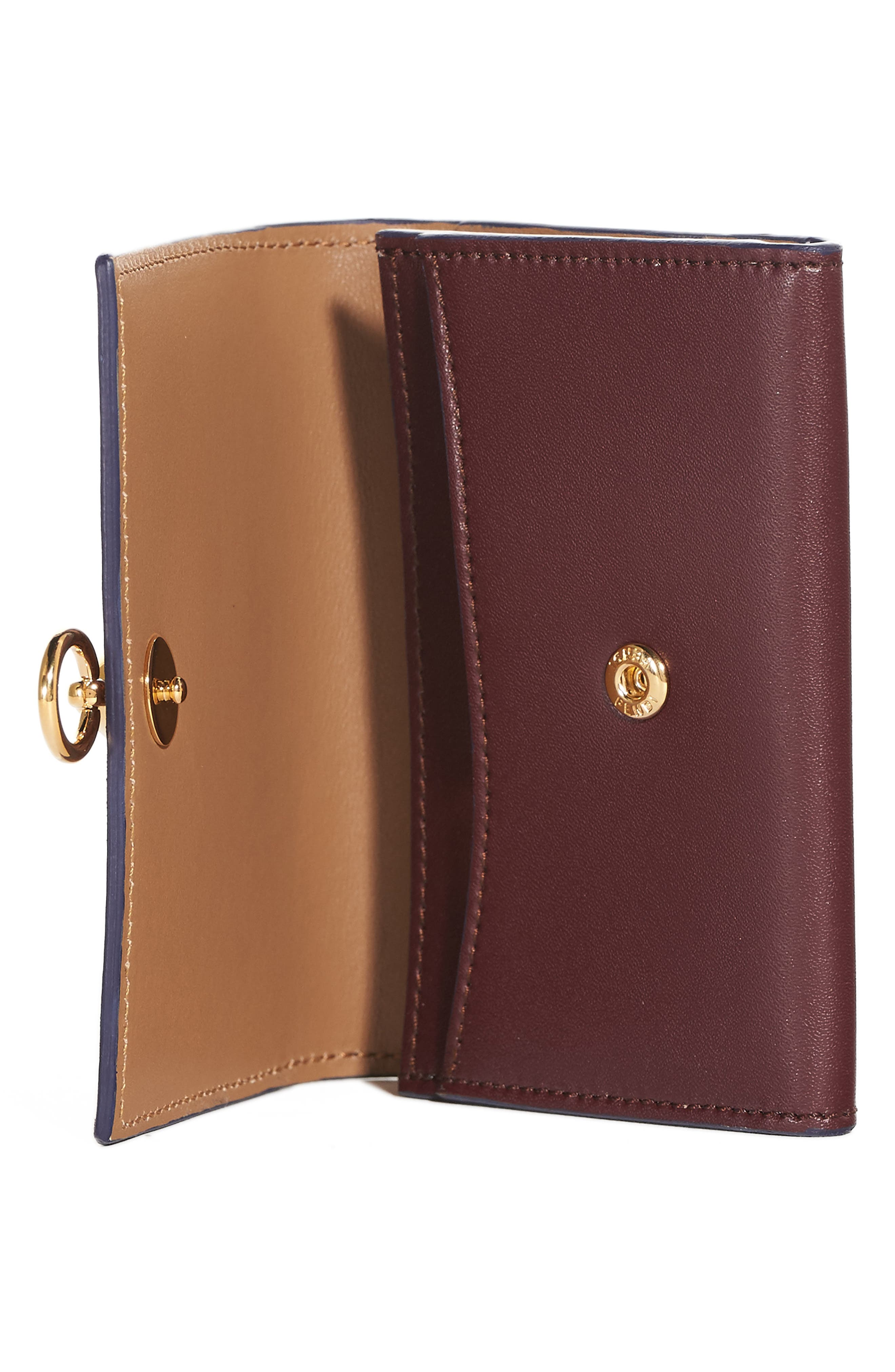 Leather Card Case,                             Alternate thumbnail 2, color,                             607