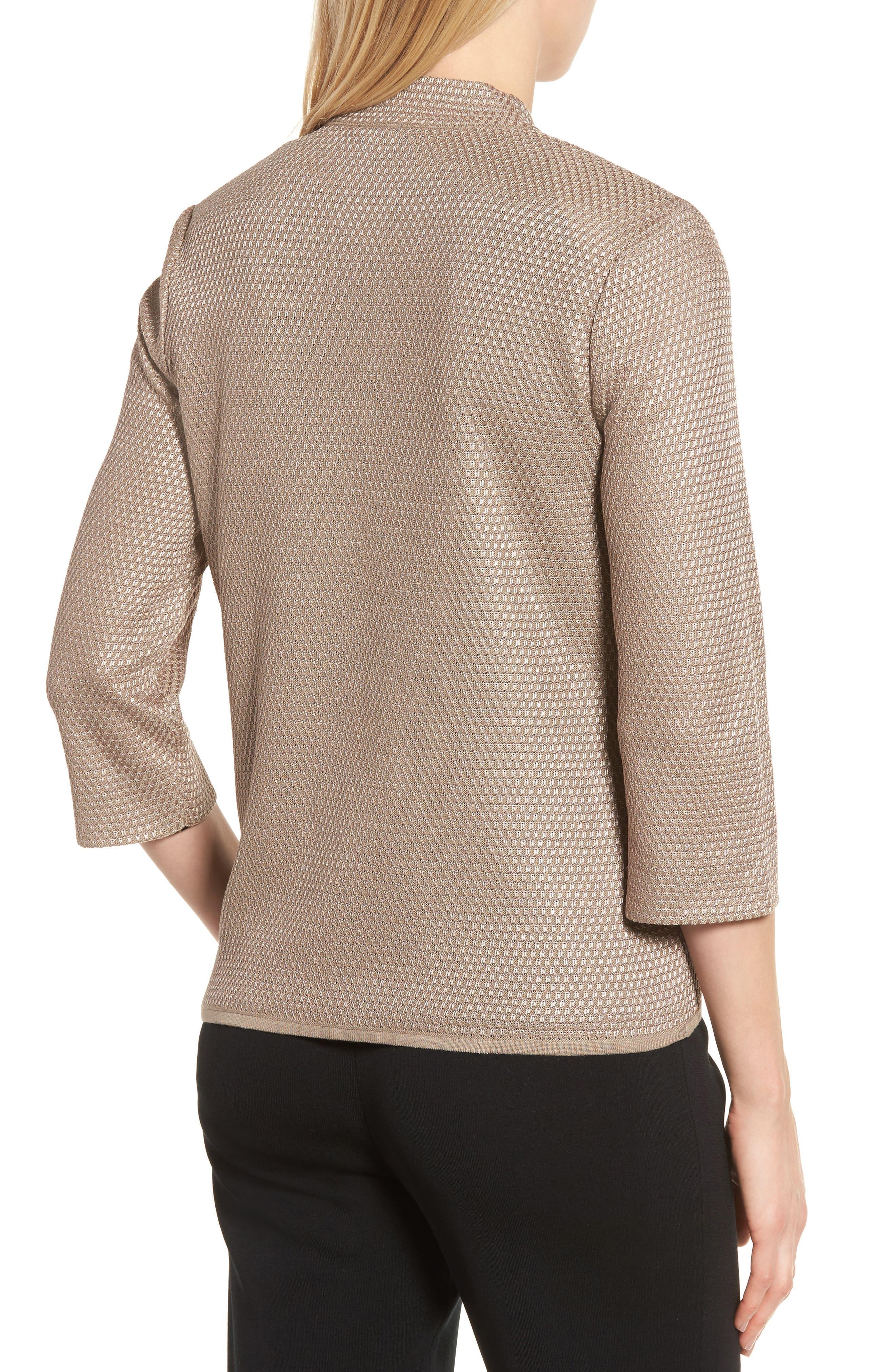 Textured Knit Jacket,                             Alternate thumbnail 2, color,                             250