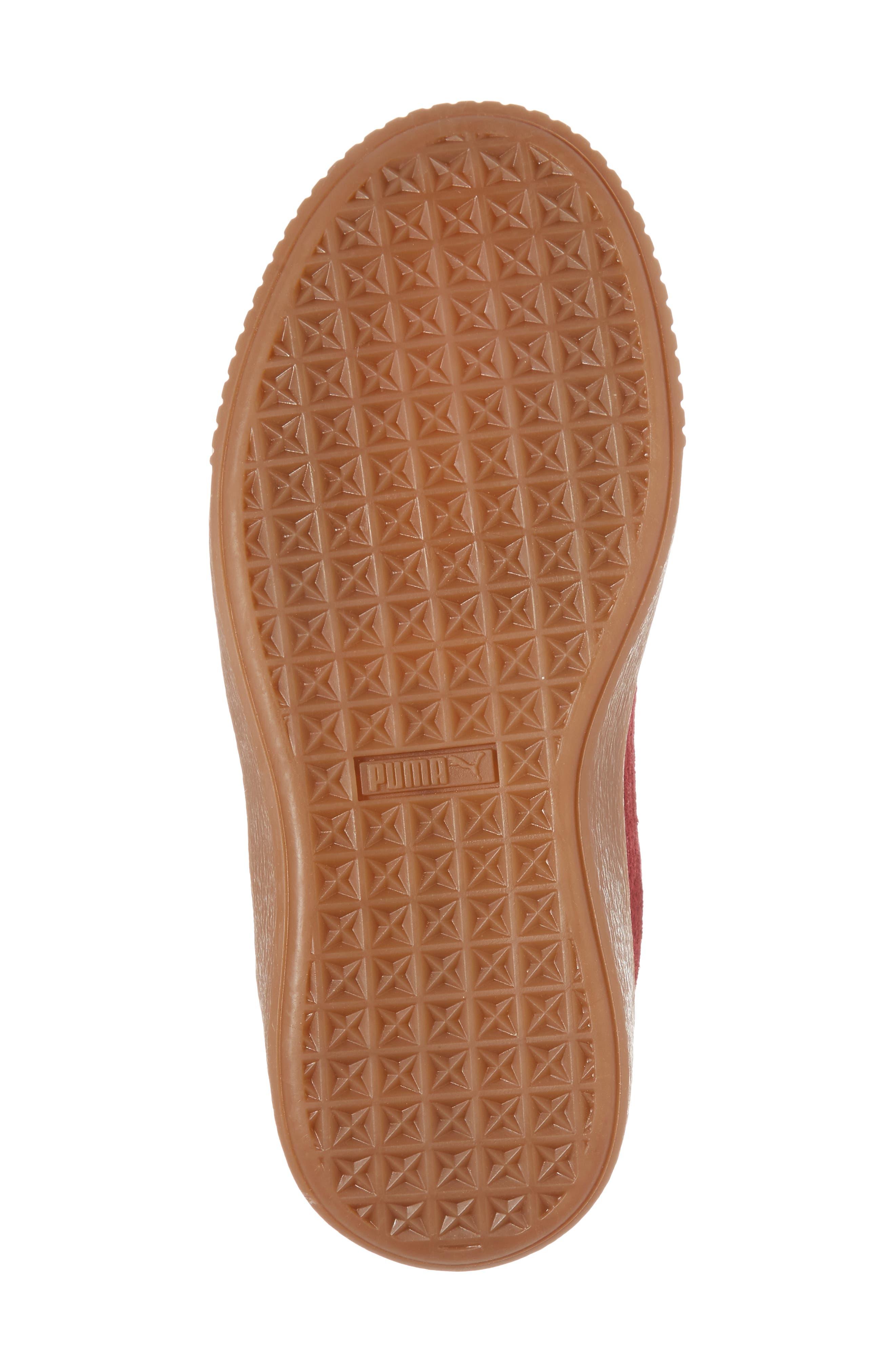 Suede Platform Glam PS Sneaker,                             Alternate thumbnail 30, color,