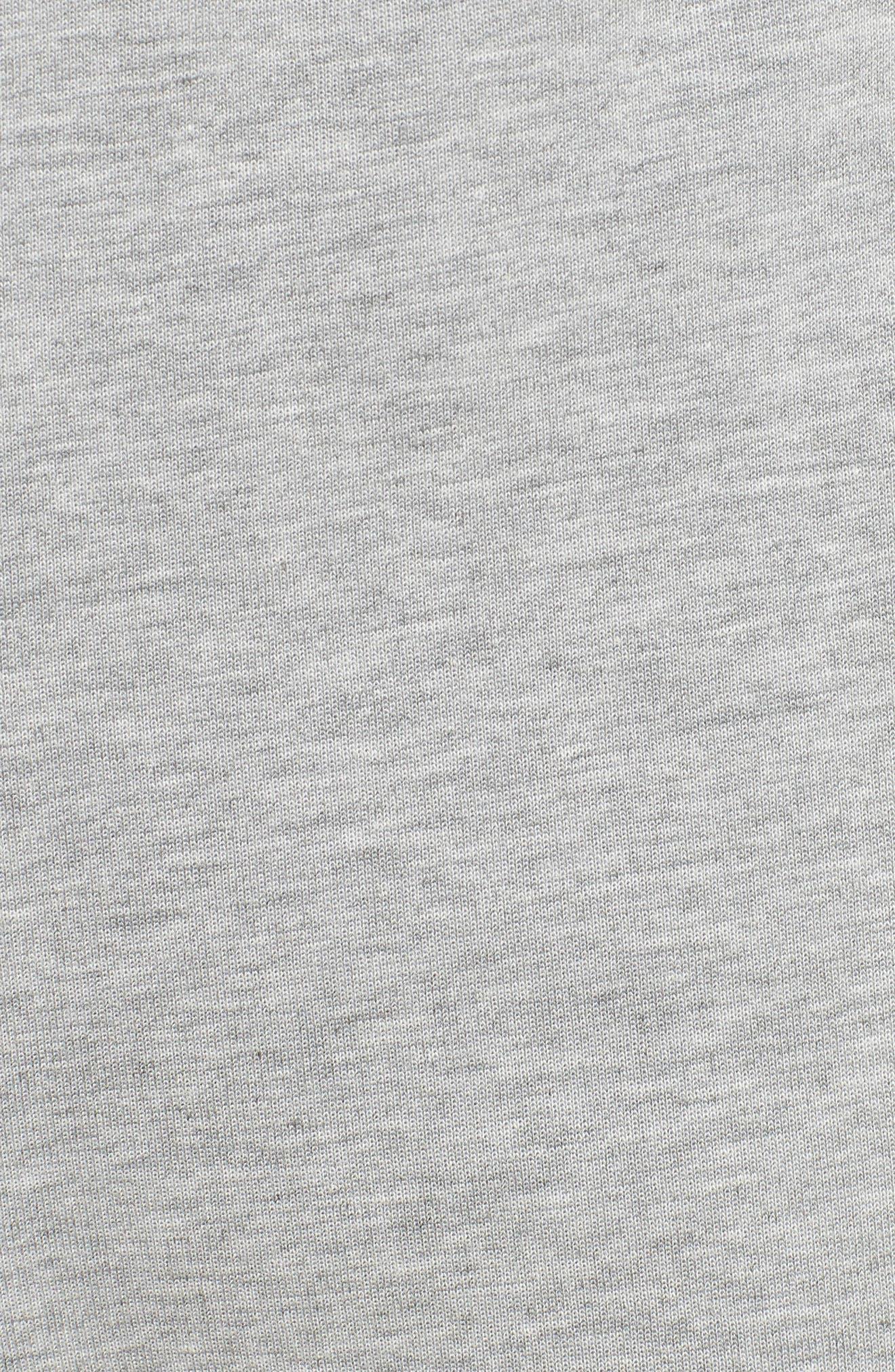 Tech Fleece Jogger Pants,                             Alternate thumbnail 5, color,                             DARK GREY HEATHER/ BLACK