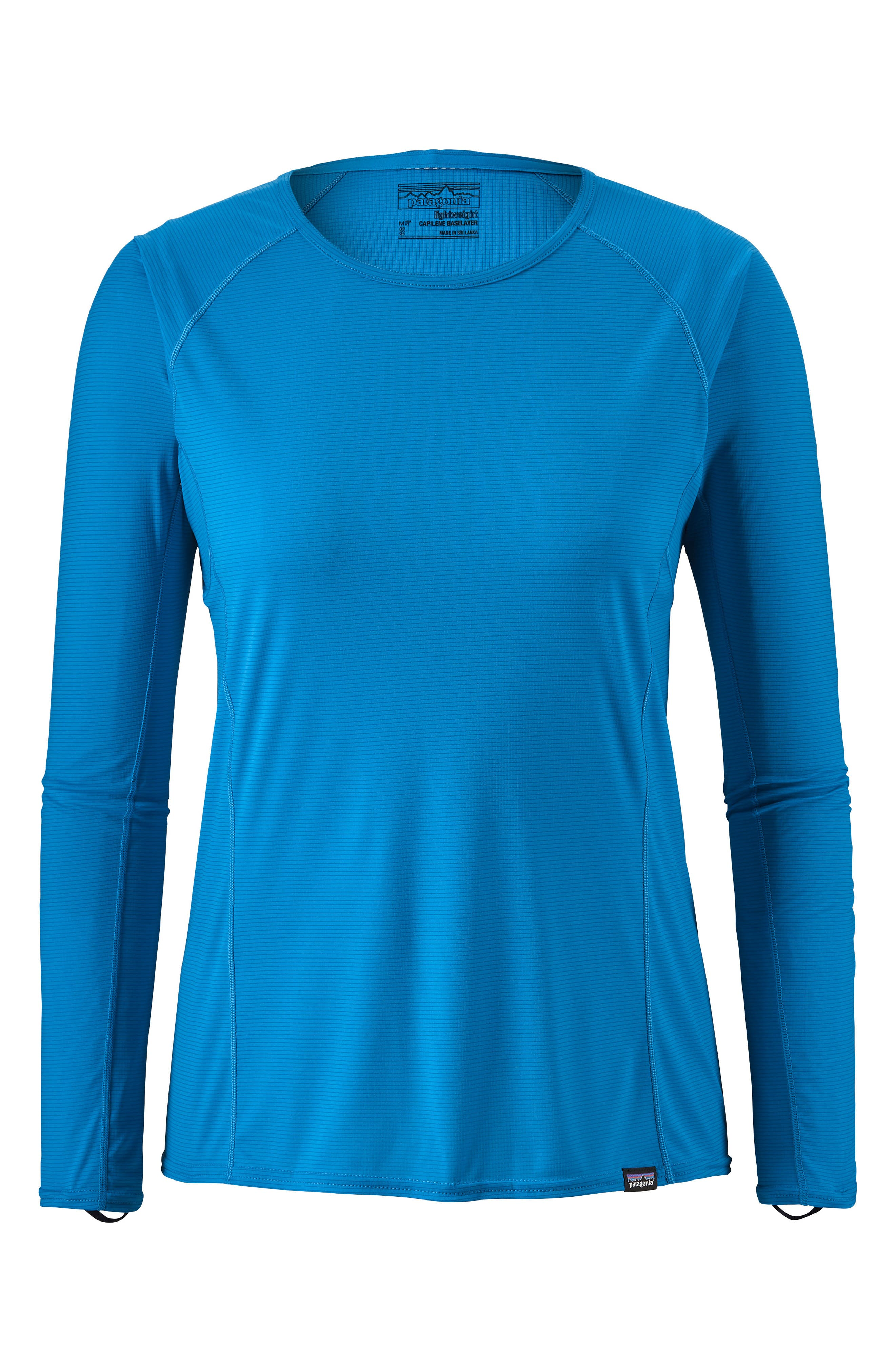 Capilene<sup>®</sup> Thermal Weight Long-Sleeve Tee,                             Main thumbnail 1, color,                             LAPIZ BLUE