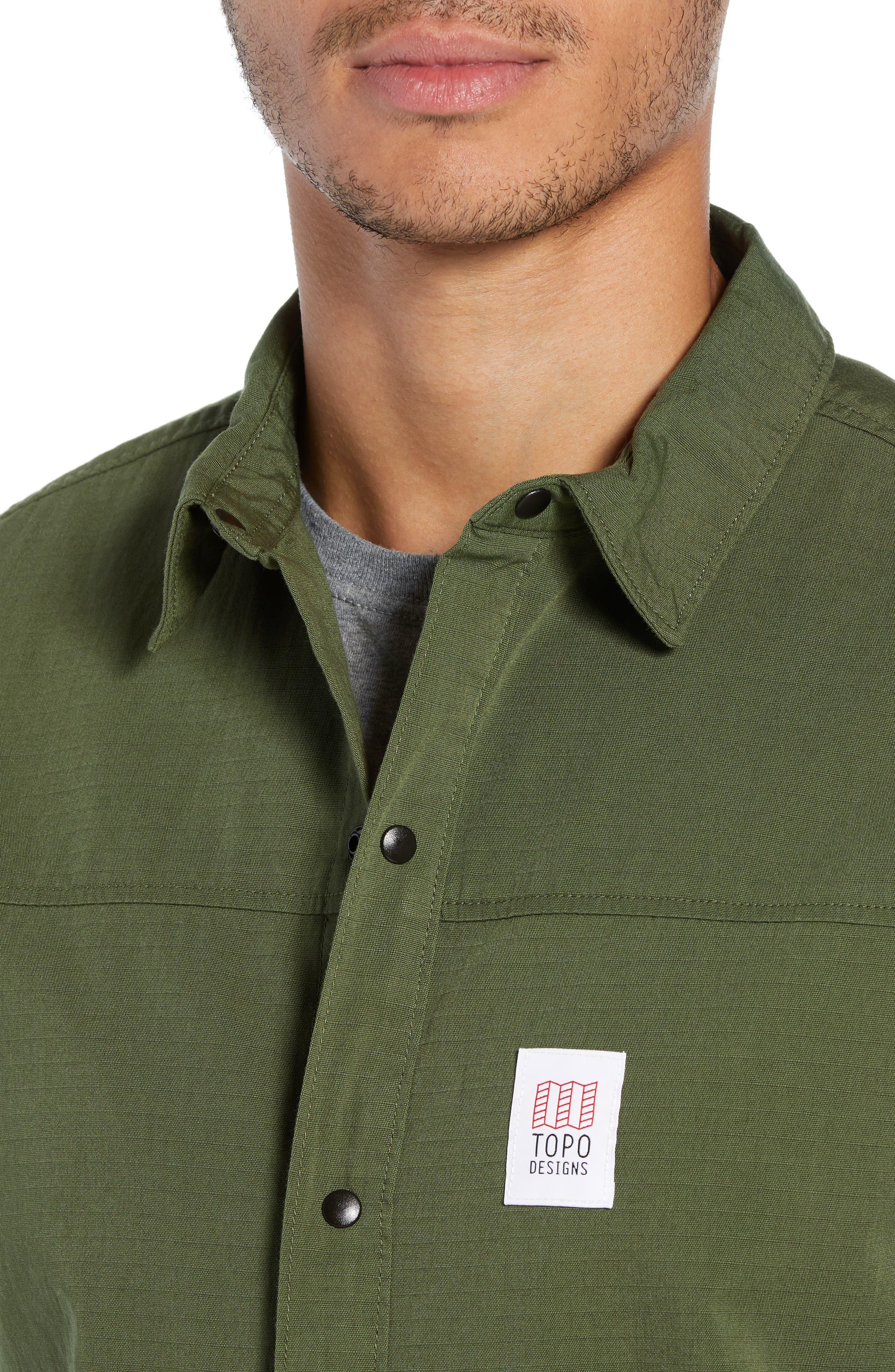 Field Jacket,                             Alternate thumbnail 4, color,                             OLIVE