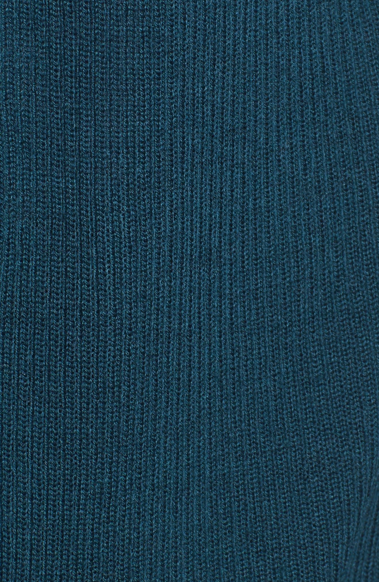 Rib Knit Wool Blend Cardigan,                             Alternate thumbnail 92, color,