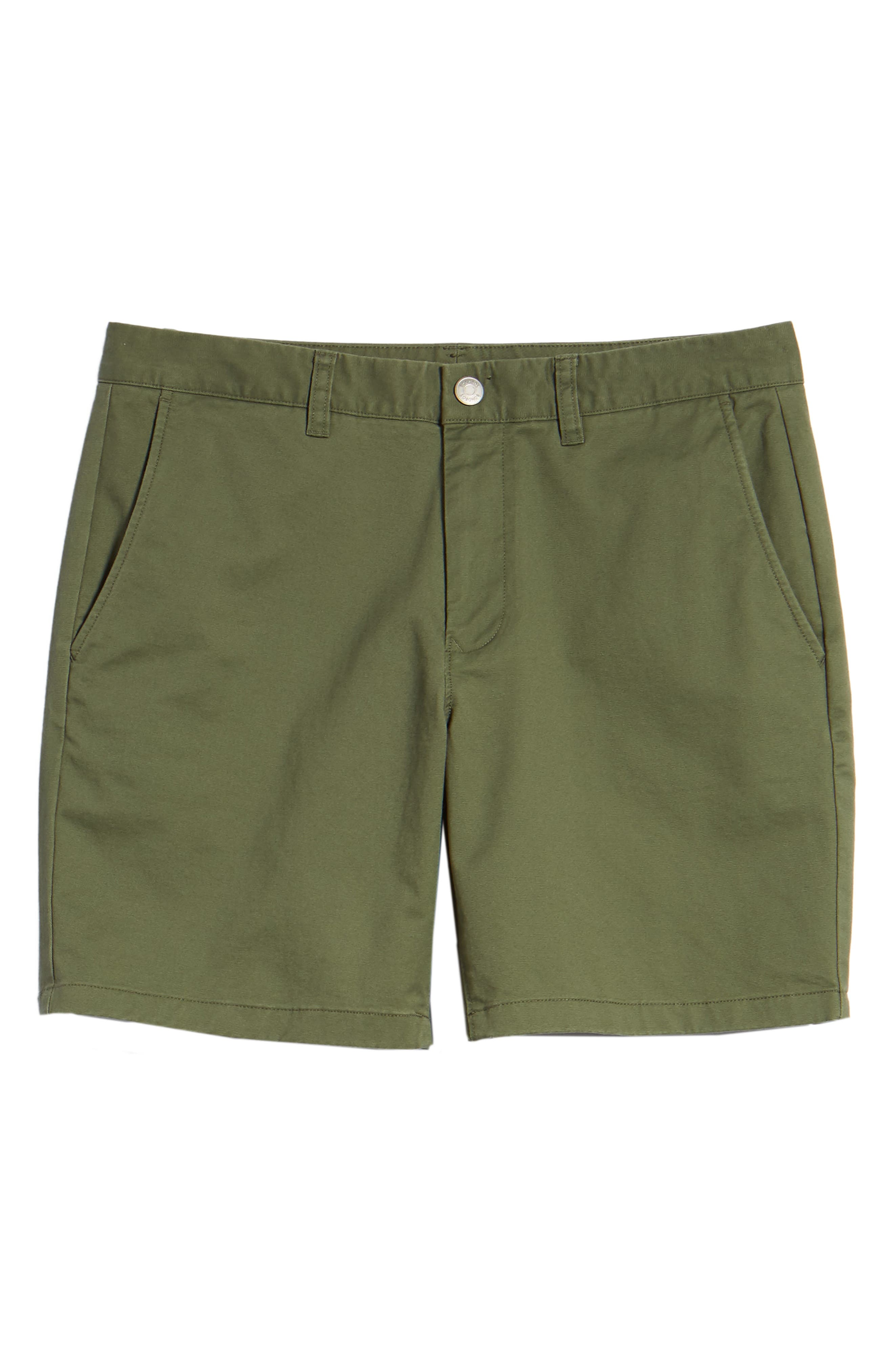 Stretch Washed Chino 7-Inch Shorts,                             Alternate thumbnail 111, color,