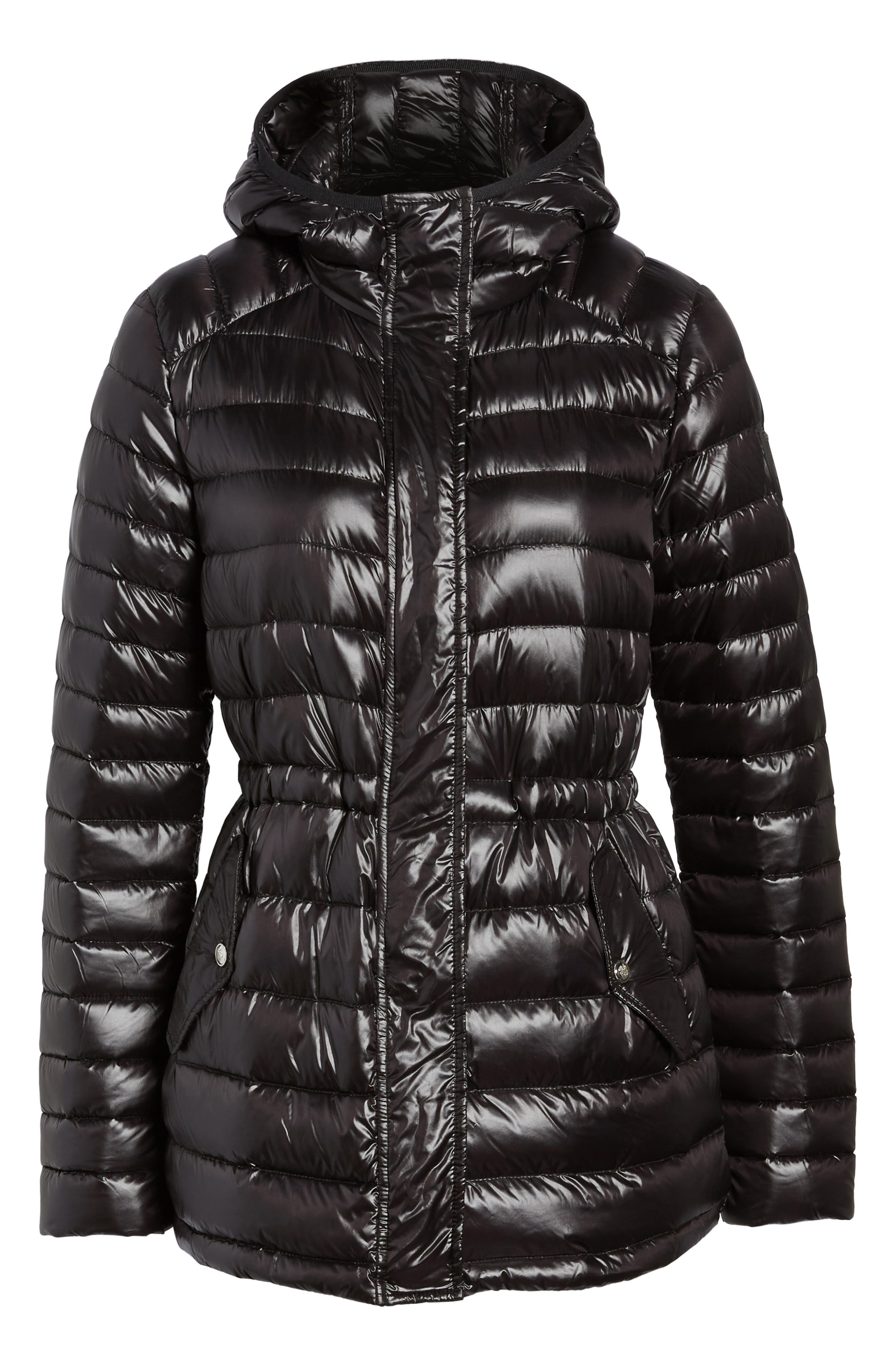 Hooded Down Jacket,                             Alternate thumbnail 5, color,                             001