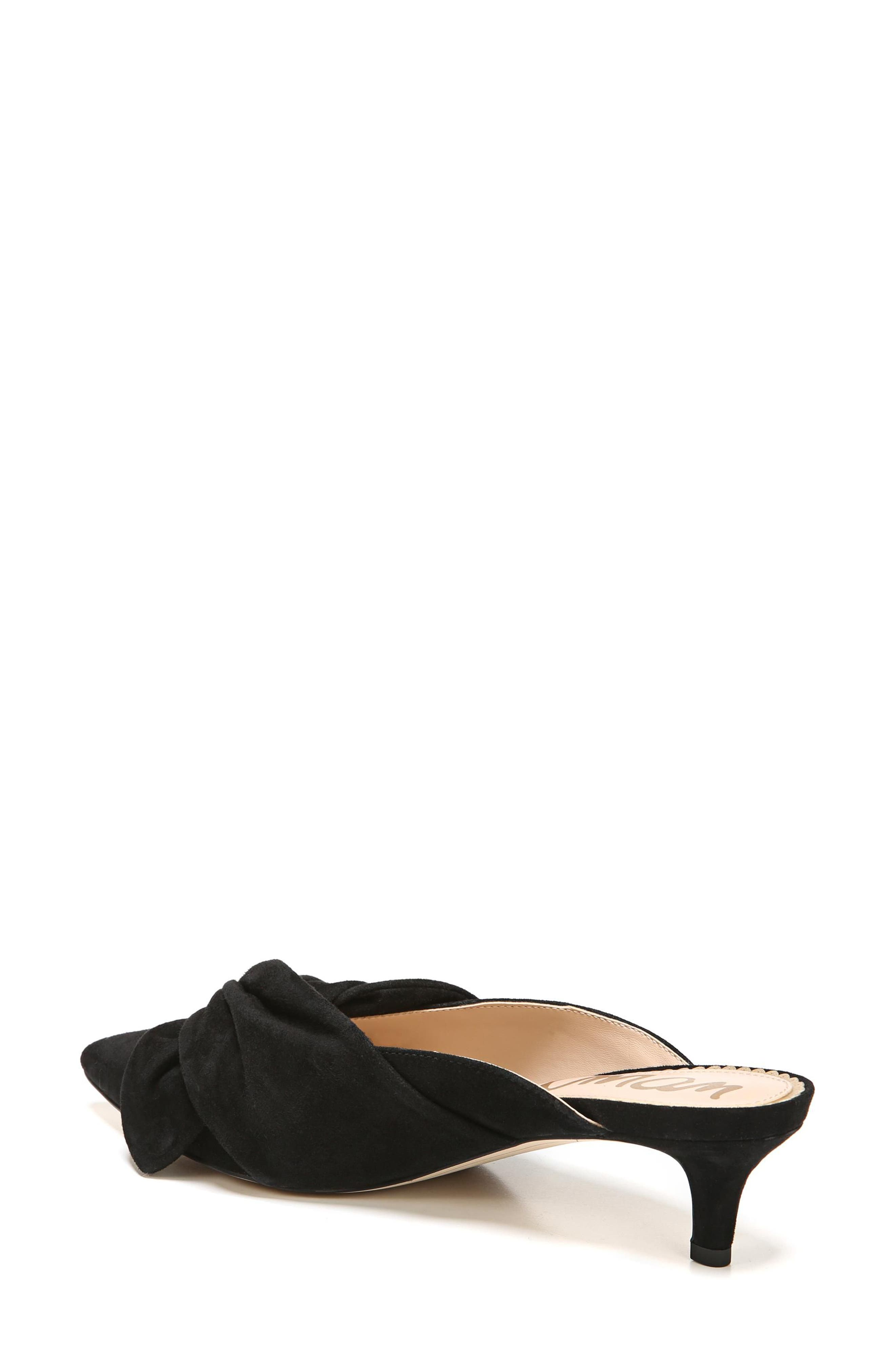 Laney Pointy Toe Mule,                             Alternate thumbnail 7, color,