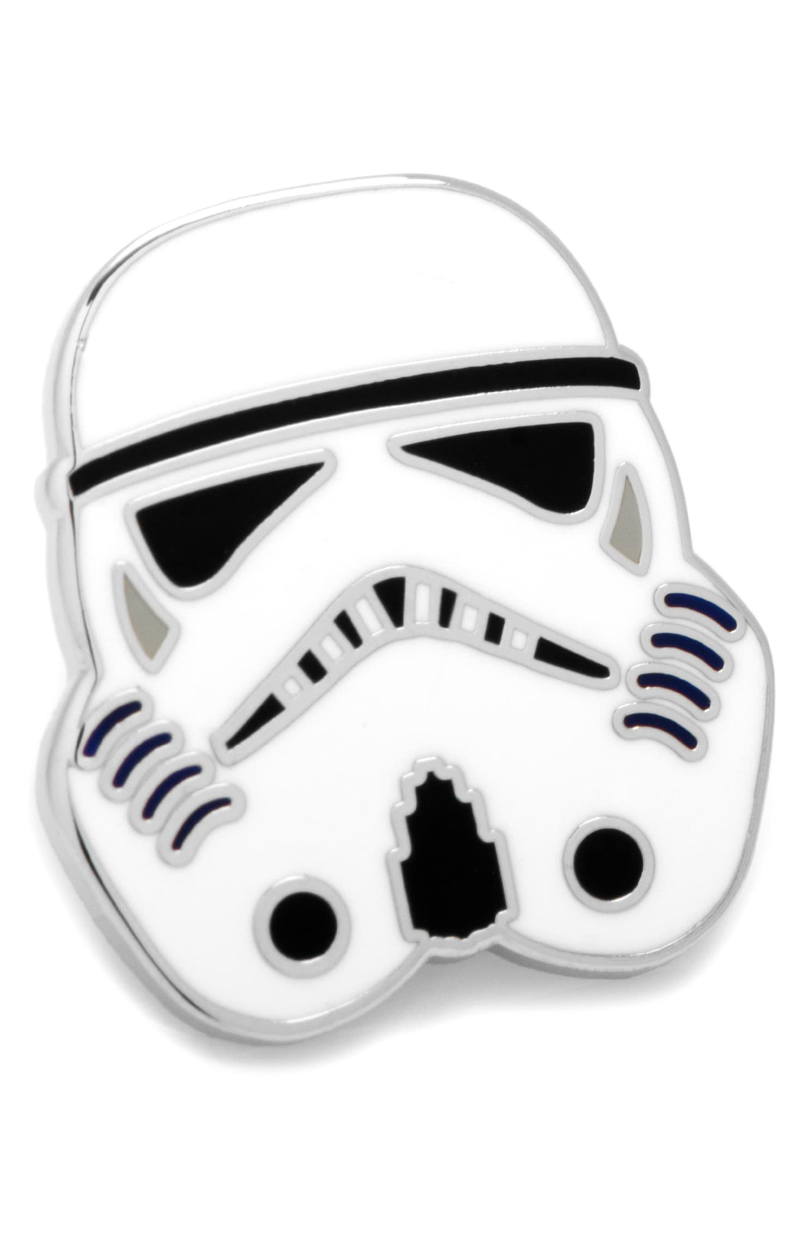 Star Wars<sup>™</sup> - Stormtrooper Lapel Pin,                             Main thumbnail 1, color,                             040