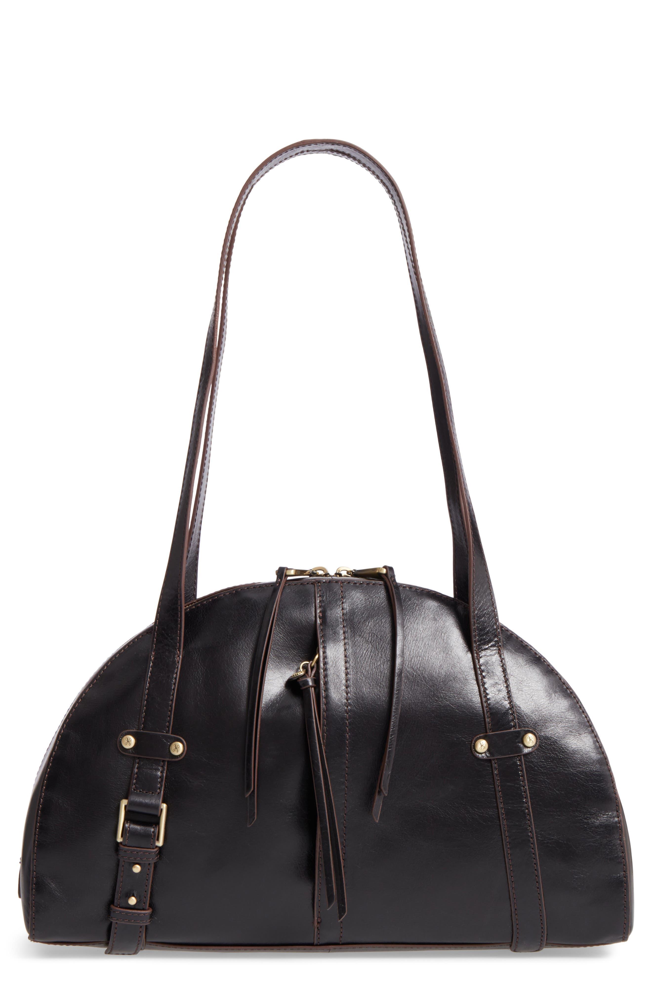 Beckon Calfskin Leather Satchel,                         Main,                         color, 001