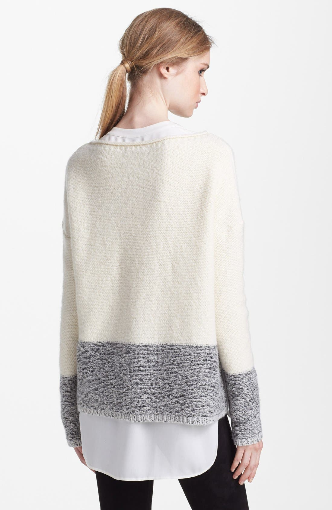 'Square' Boatneck Sweater,                             Alternate thumbnail 2, color,                             250