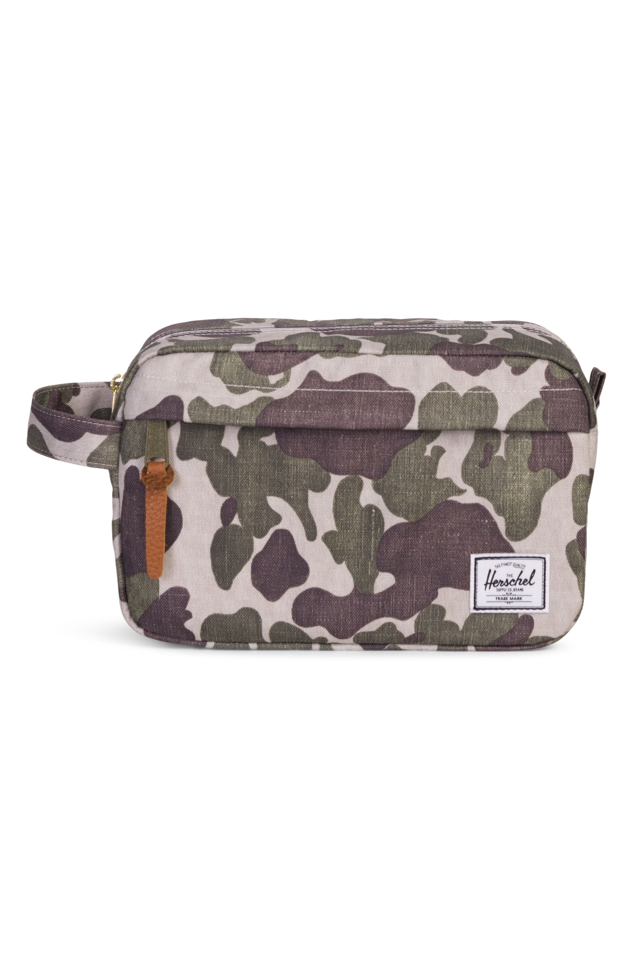 'Chapter' Toiletry Case,                             Main thumbnail 1, color,                             FROG CAMO