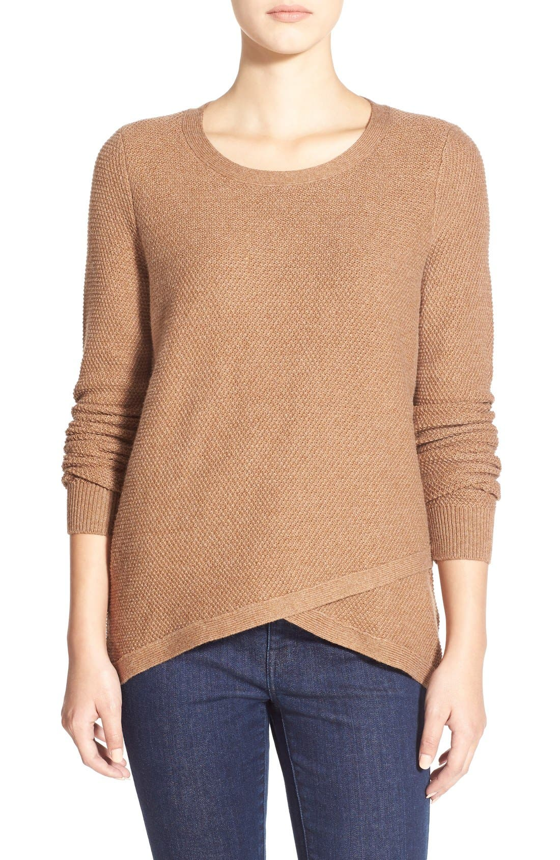 'Feature' Pullover Sweater, Main, color, 250