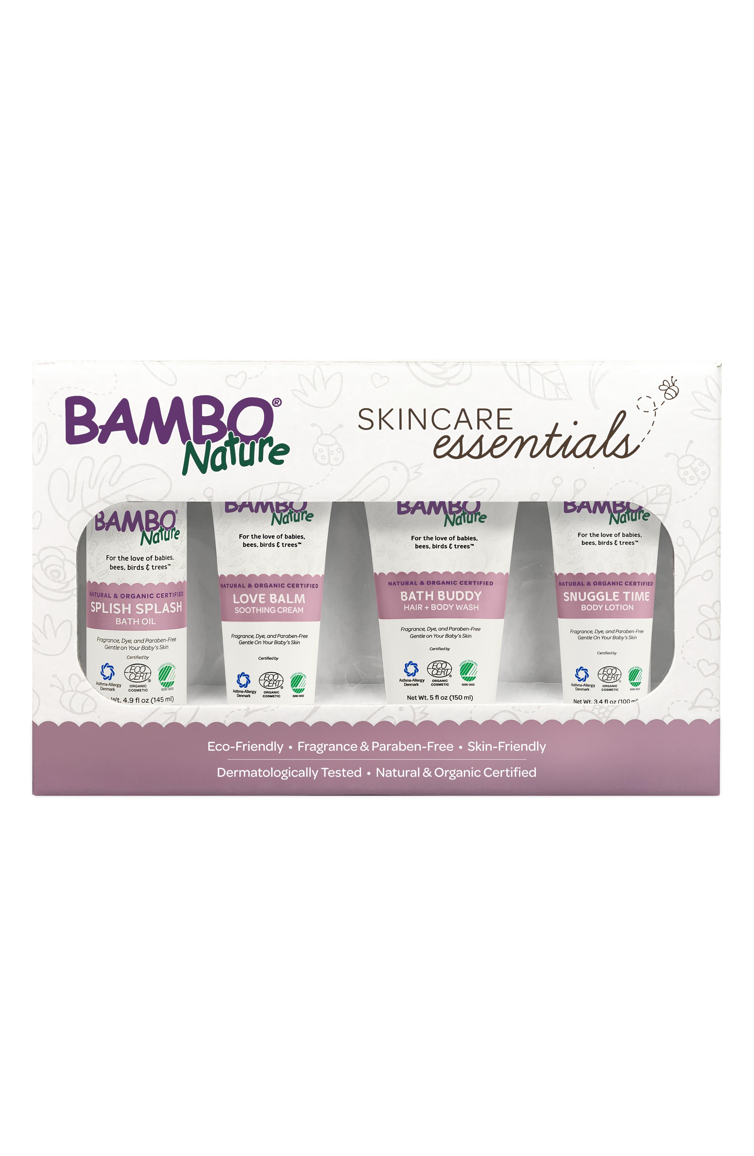 Bambo Nature Skincare Essentials Set