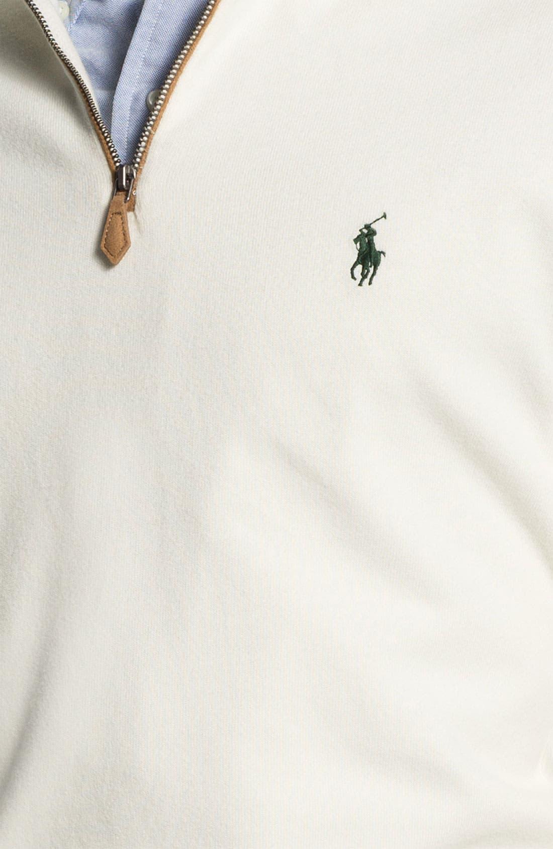 Half Zip Pullover,                             Alternate thumbnail 2, color,                             101