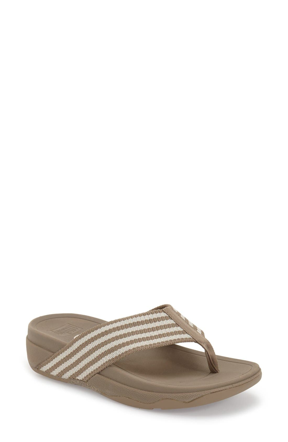 'Surfa' Thong Sandal,                             Main thumbnail 4, color,