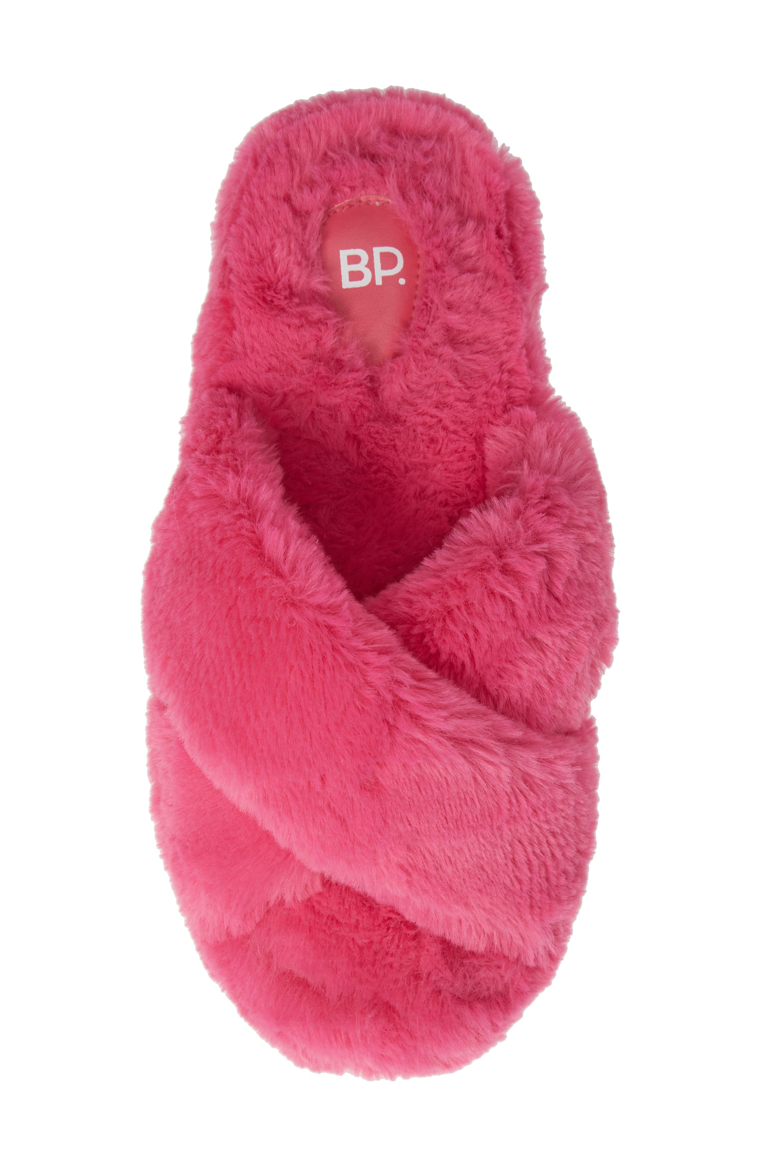 Giaa Faux Fur Slipper,                             Alternate thumbnail 5, color,                             656