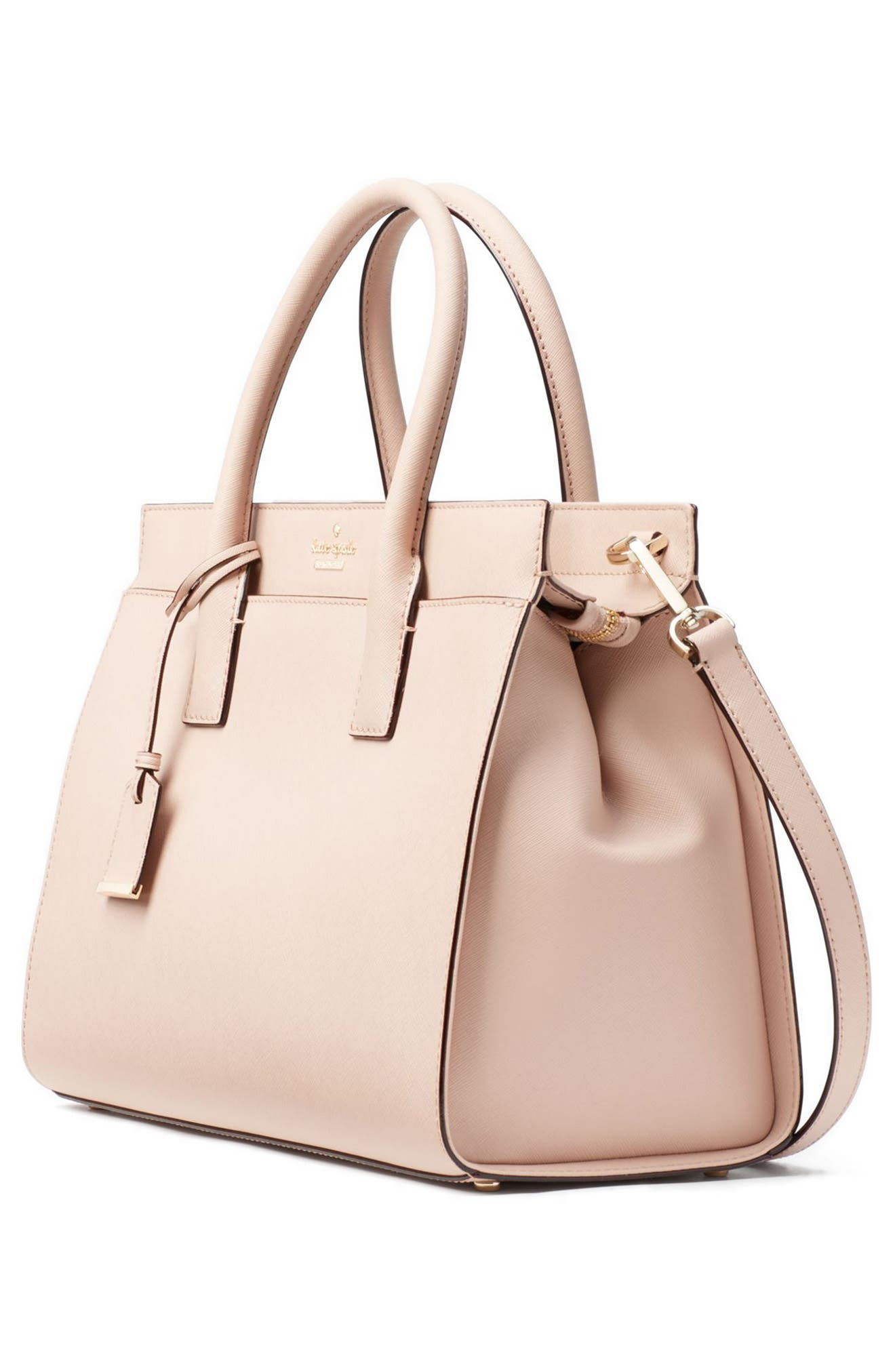 cameron street - candace leather satchel,                             Alternate thumbnail 55, color,
