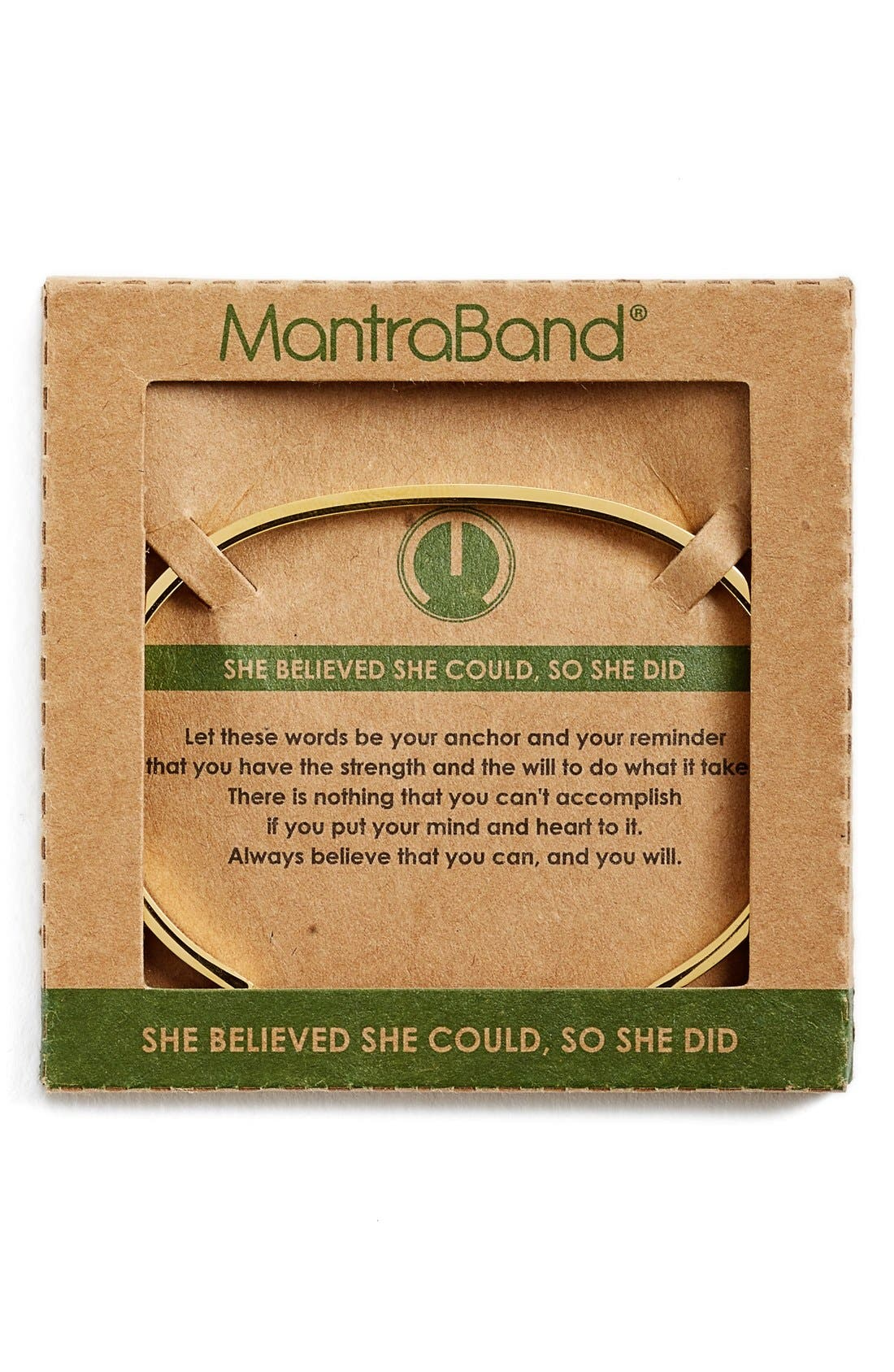 'She Believed She Could' Cuff,                             Alternate thumbnail 8, color,