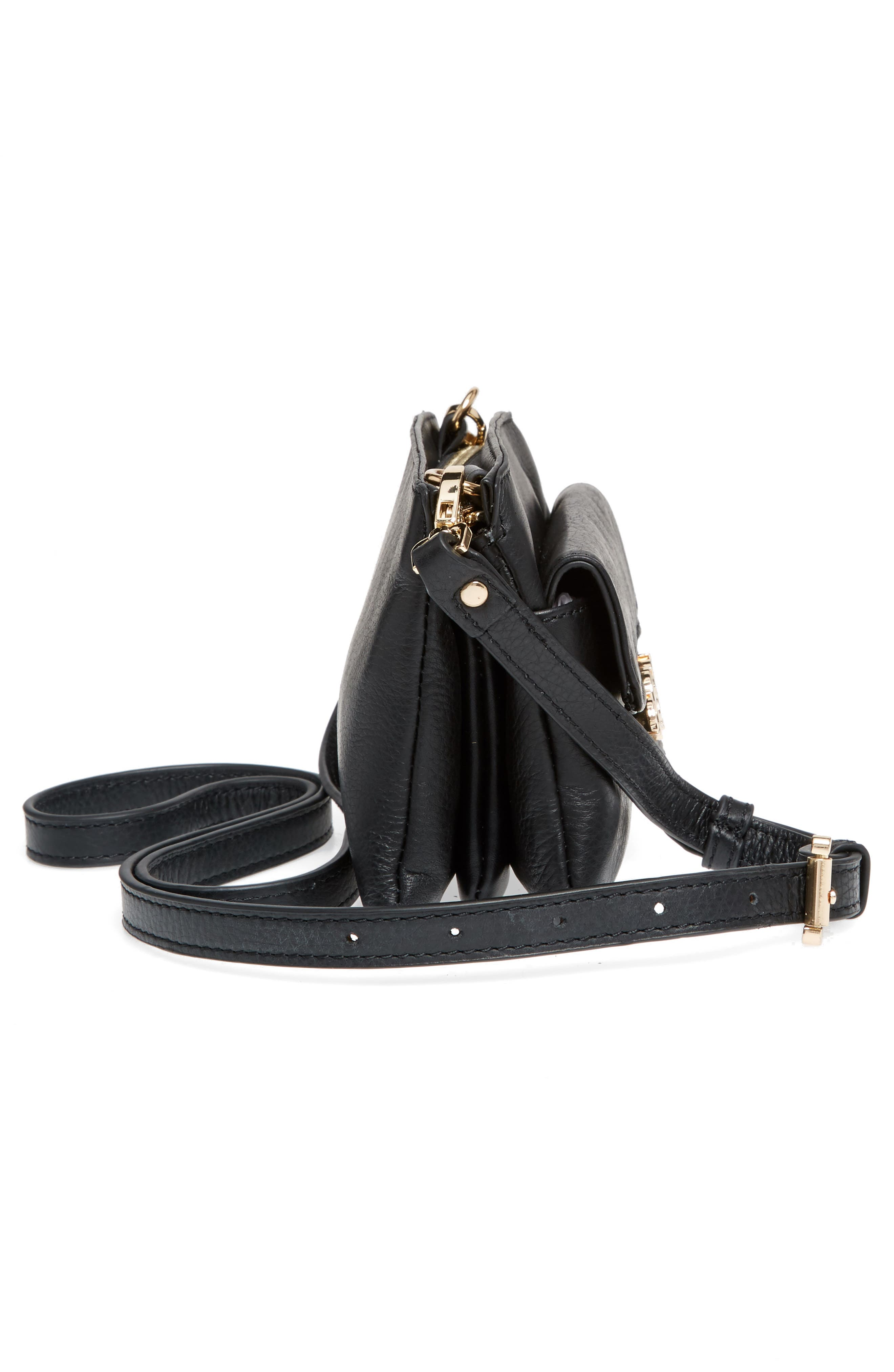 Katerini Leather Crossbody Wallet,                             Alternate thumbnail 27, color,