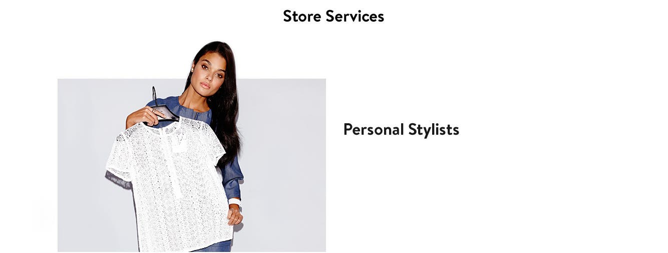 Store services at Nordstrom CF Toronto Eaton Centre.