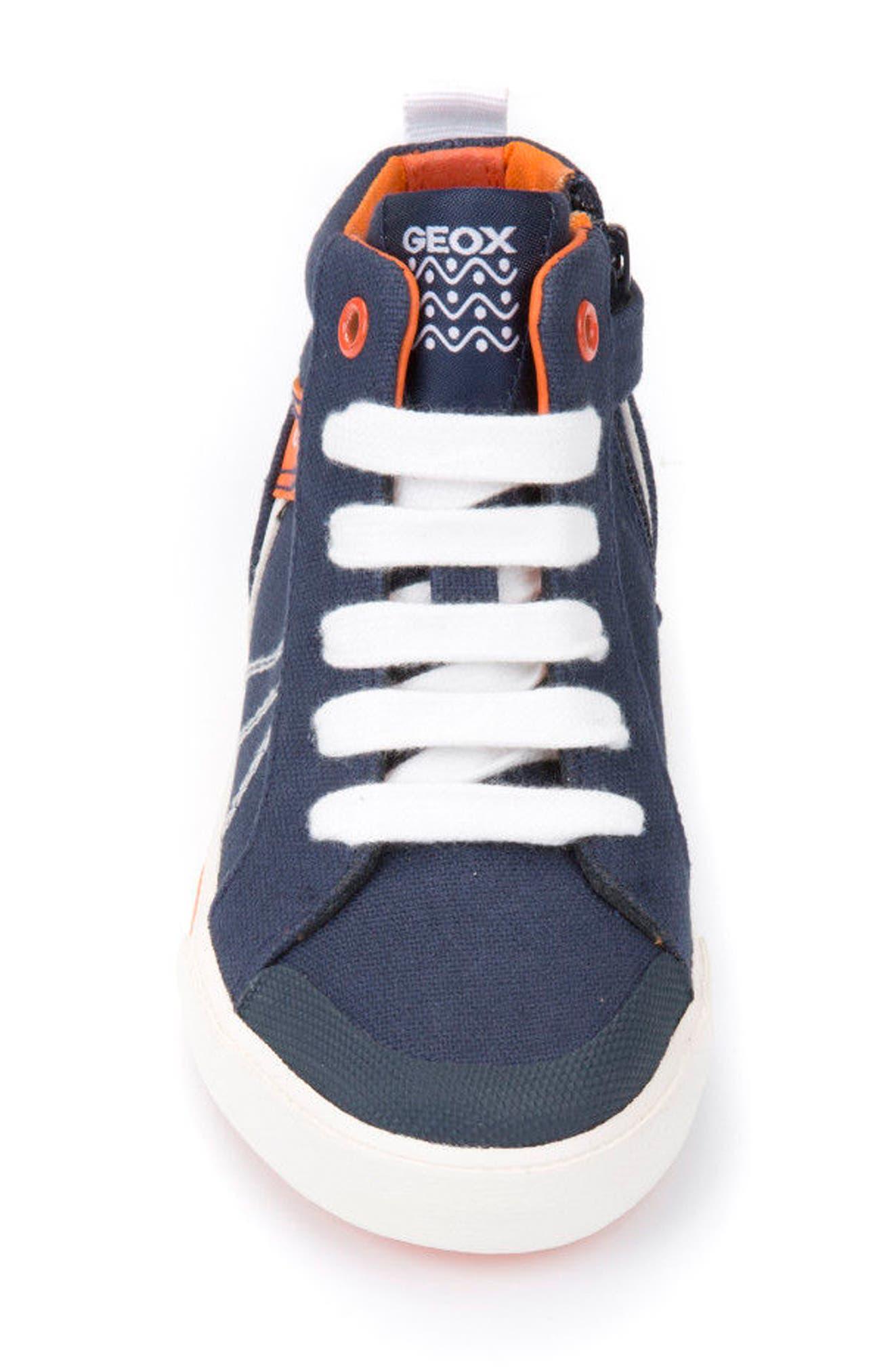 Kilwi Zip High Top Sneaker,                             Alternate thumbnail 4, color,                             402
