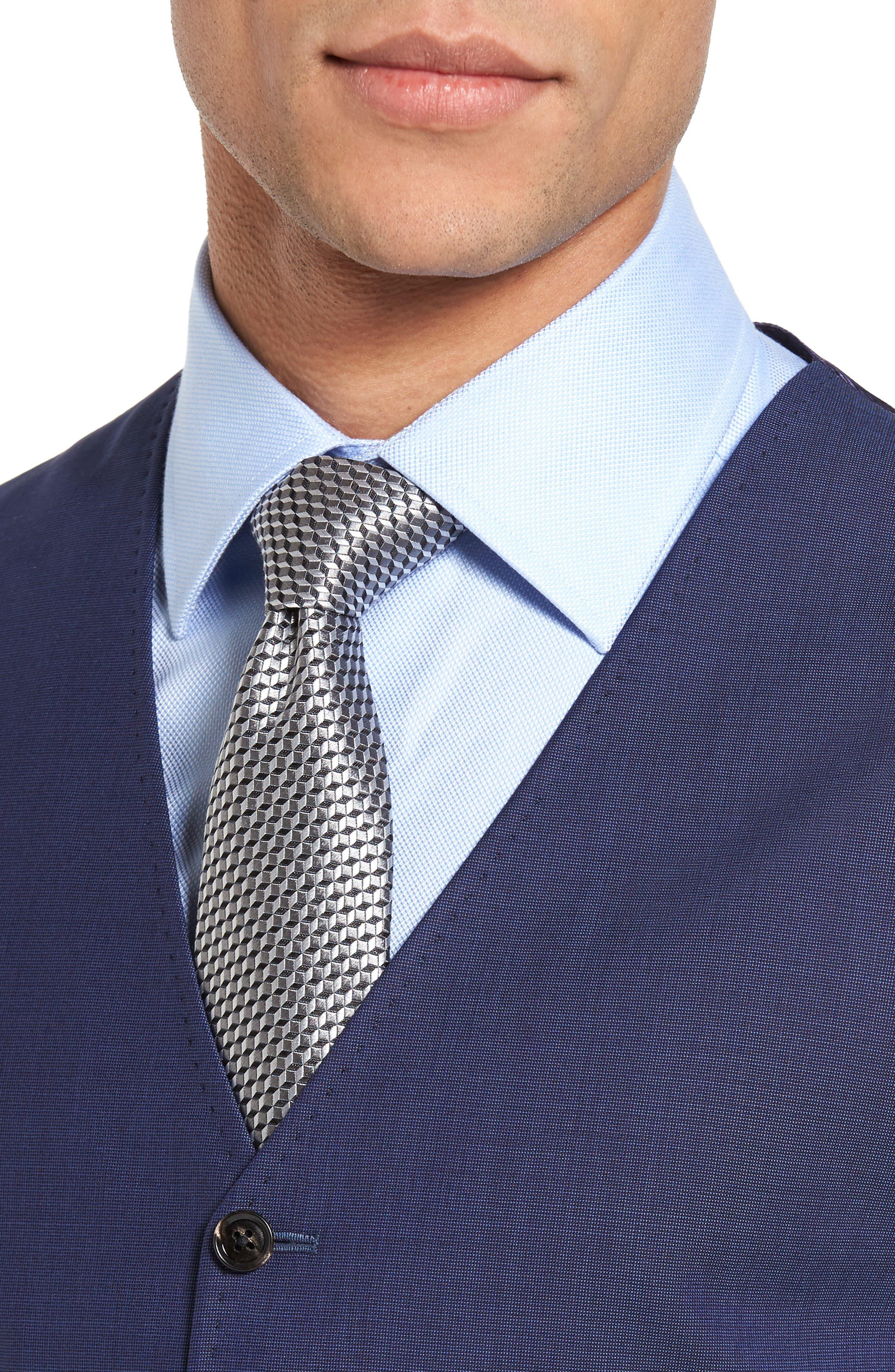 Jones Trim Fit Wool Vest,                             Alternate thumbnail 19, color,