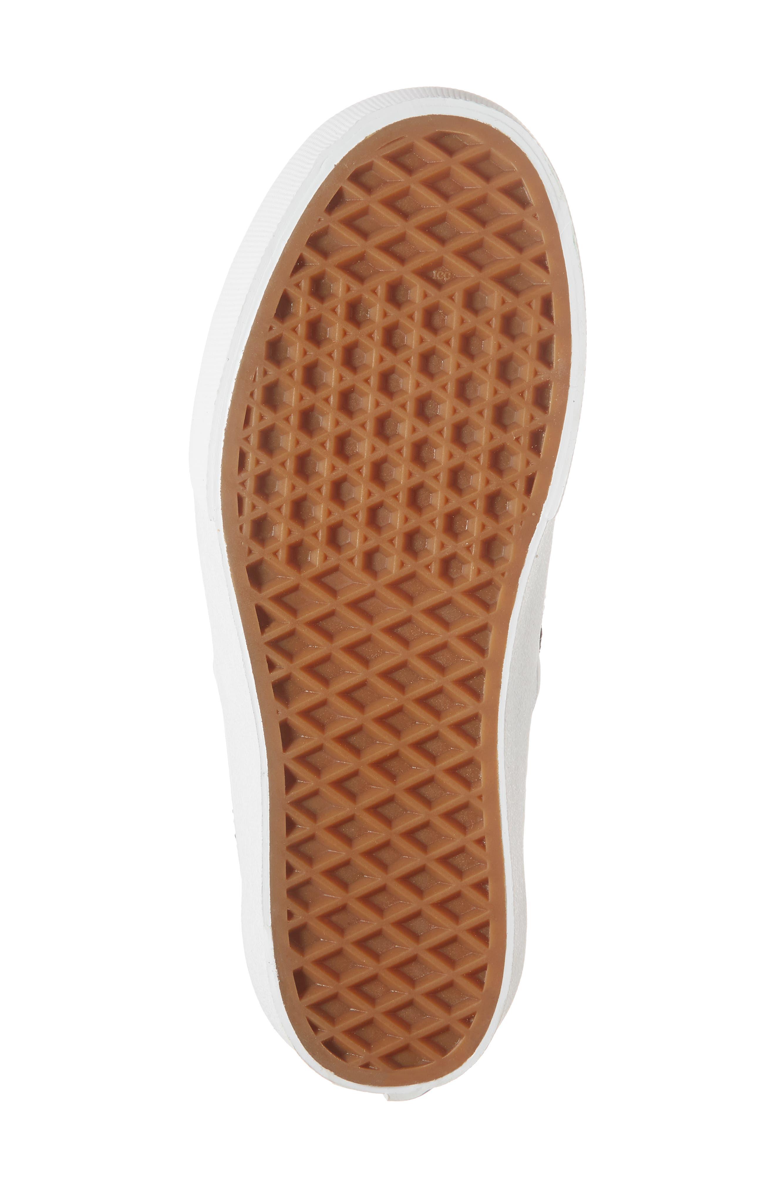 VANS,                             'Authentic' Platform Sneaker,                             Alternate thumbnail 6, color,                             004