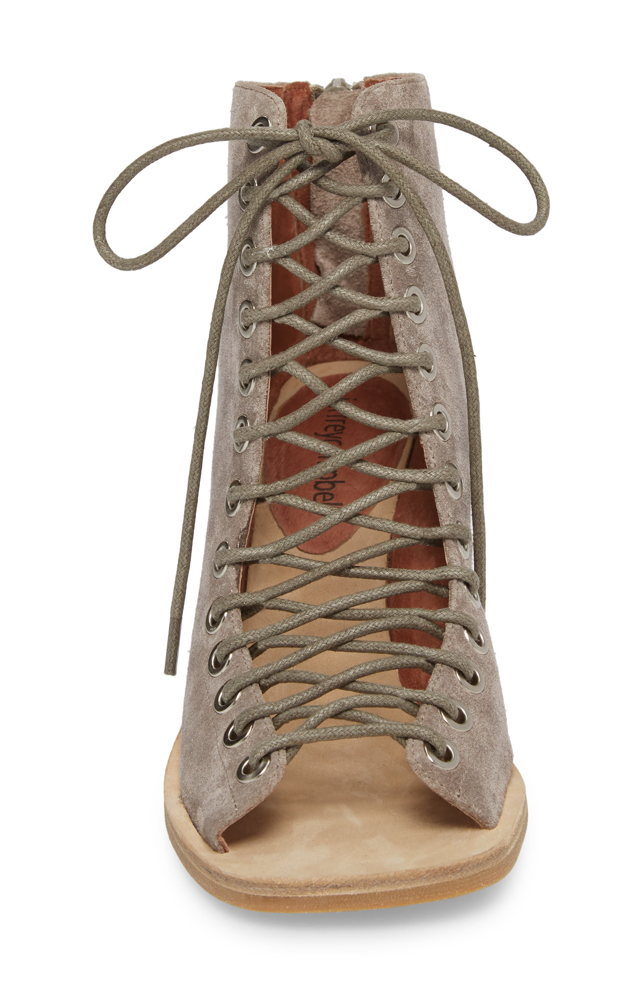 Cors Bootie,                             Alternate thumbnail 4, color,                             TAUPE SUEDE