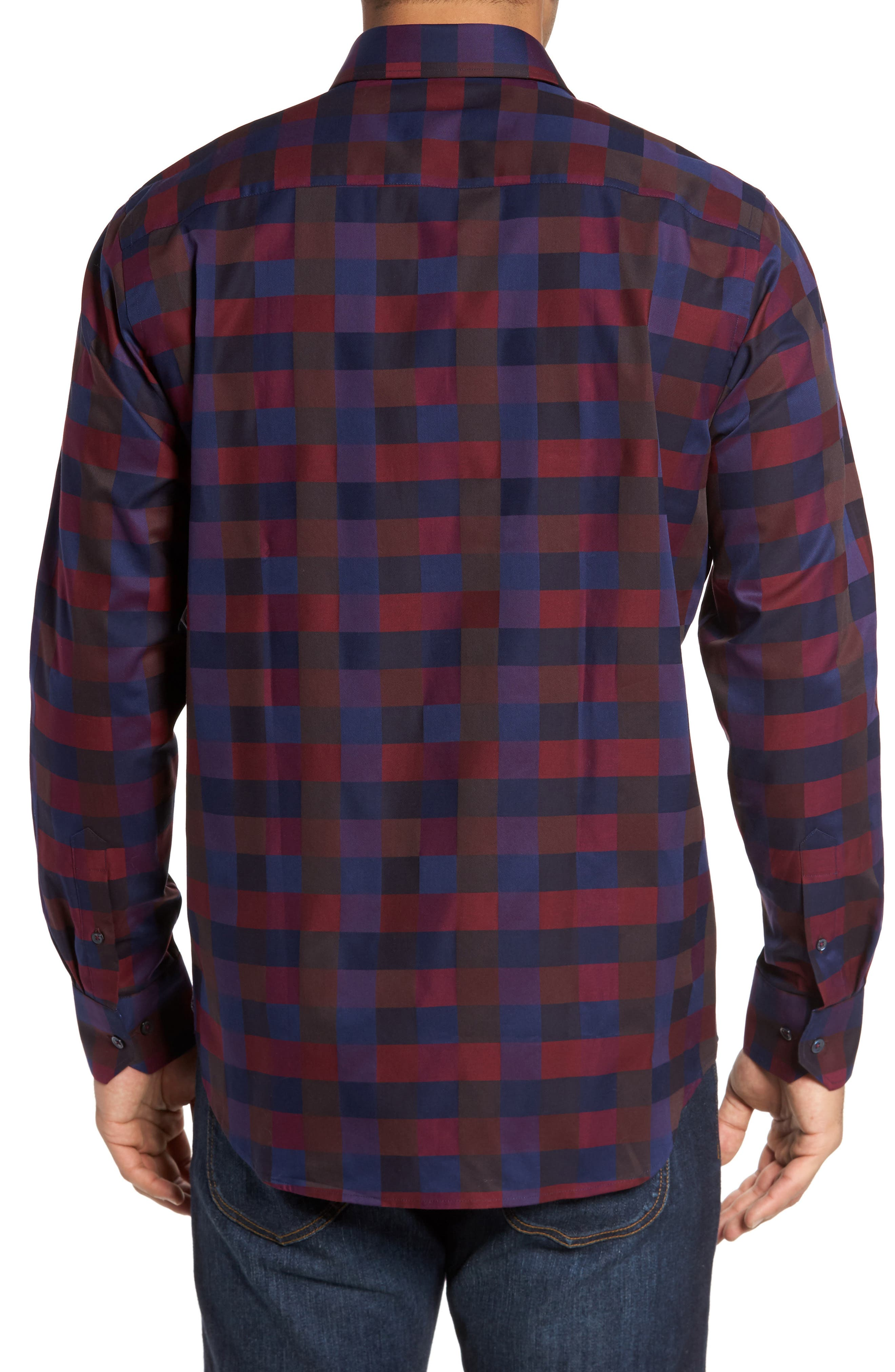Classic Fit Check Sport Shirt,                             Alternate thumbnail 2, color,                             503
