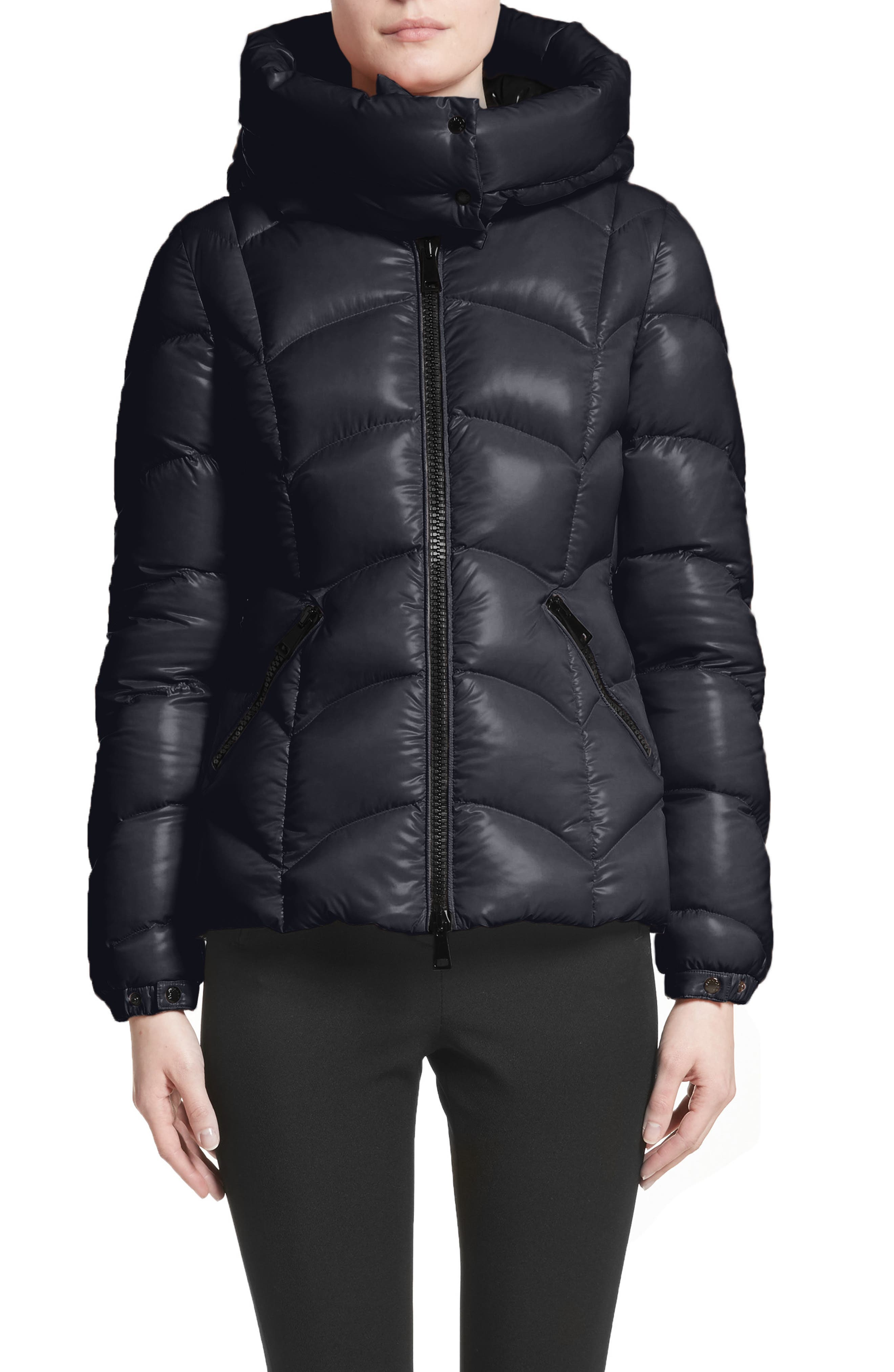 Akebia Quilted Down Jacket,                             Main thumbnail 1, color,                             NAVY