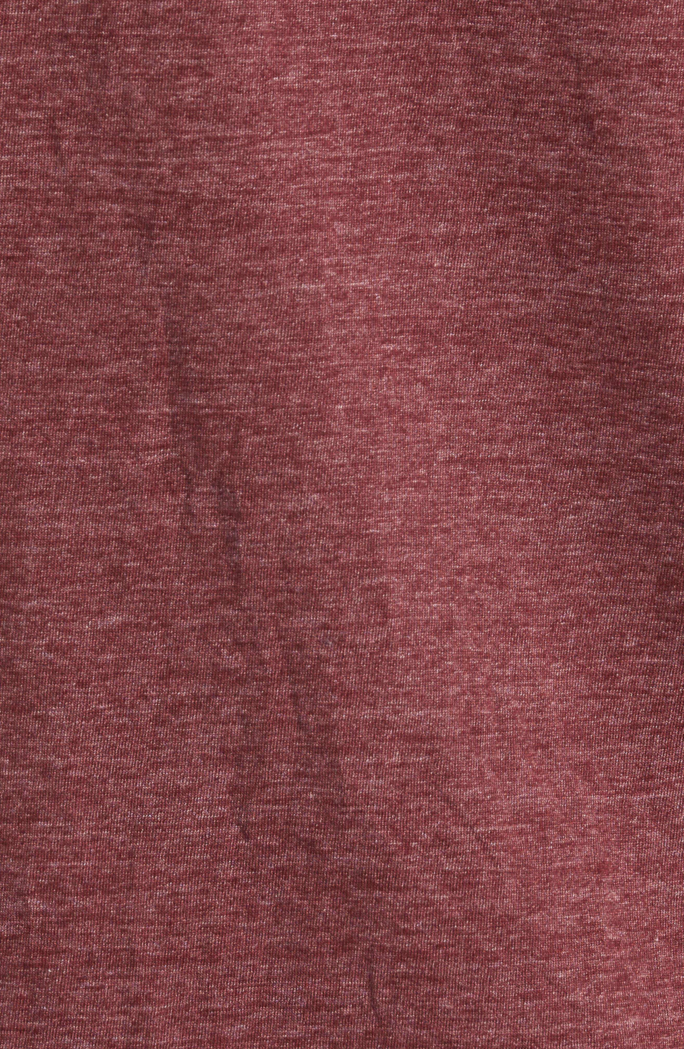 Scallop Triblend Crewneck T-Shirt,                             Alternate thumbnail 115, color,
