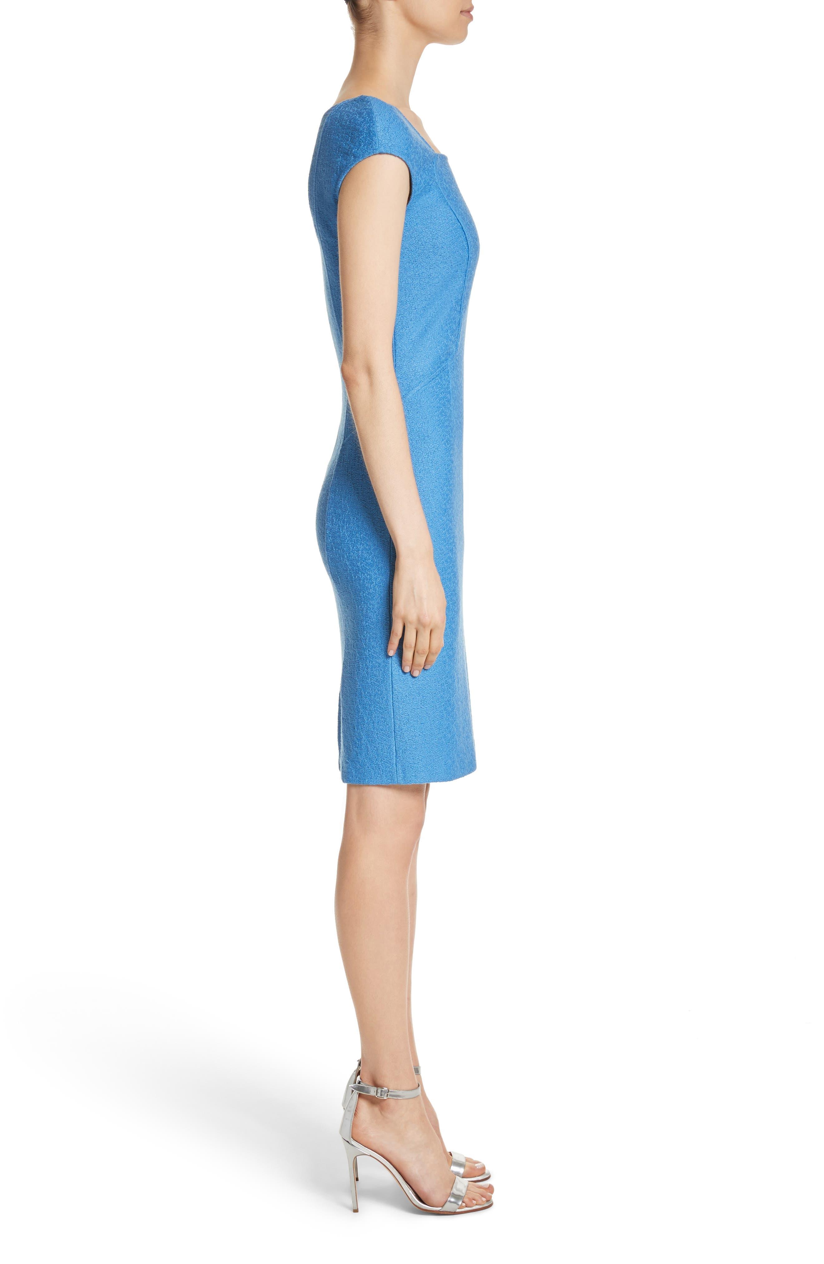 Hannah Knit Dress,                             Alternate thumbnail 3, color,                             420