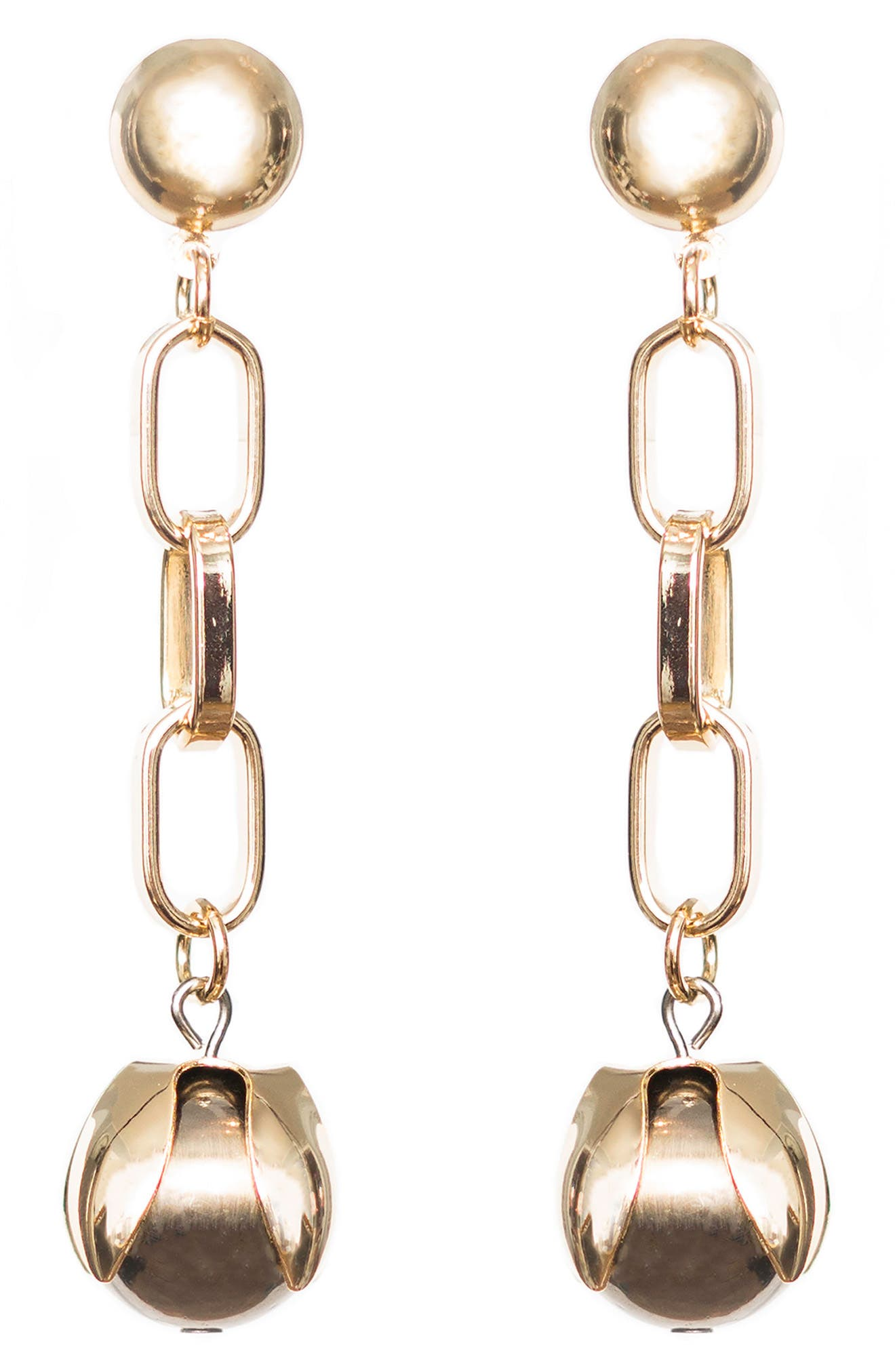 Orb Drop Chain Earrings,                         Main,                         color, 710