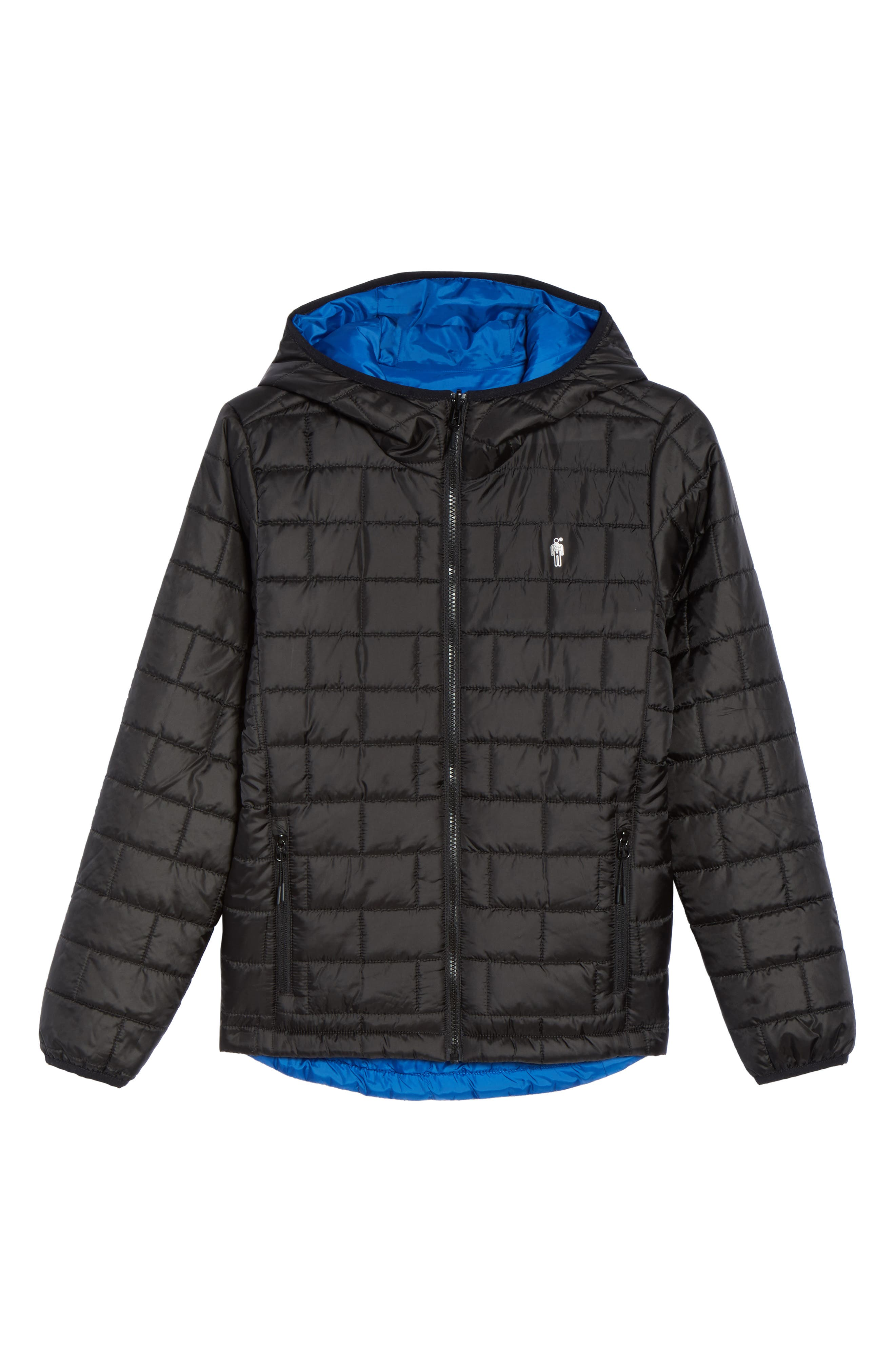 Highland Reversible Water-Resistant & Windproof Quilted Puffer Jacket,                             Alternate thumbnail 12, color,