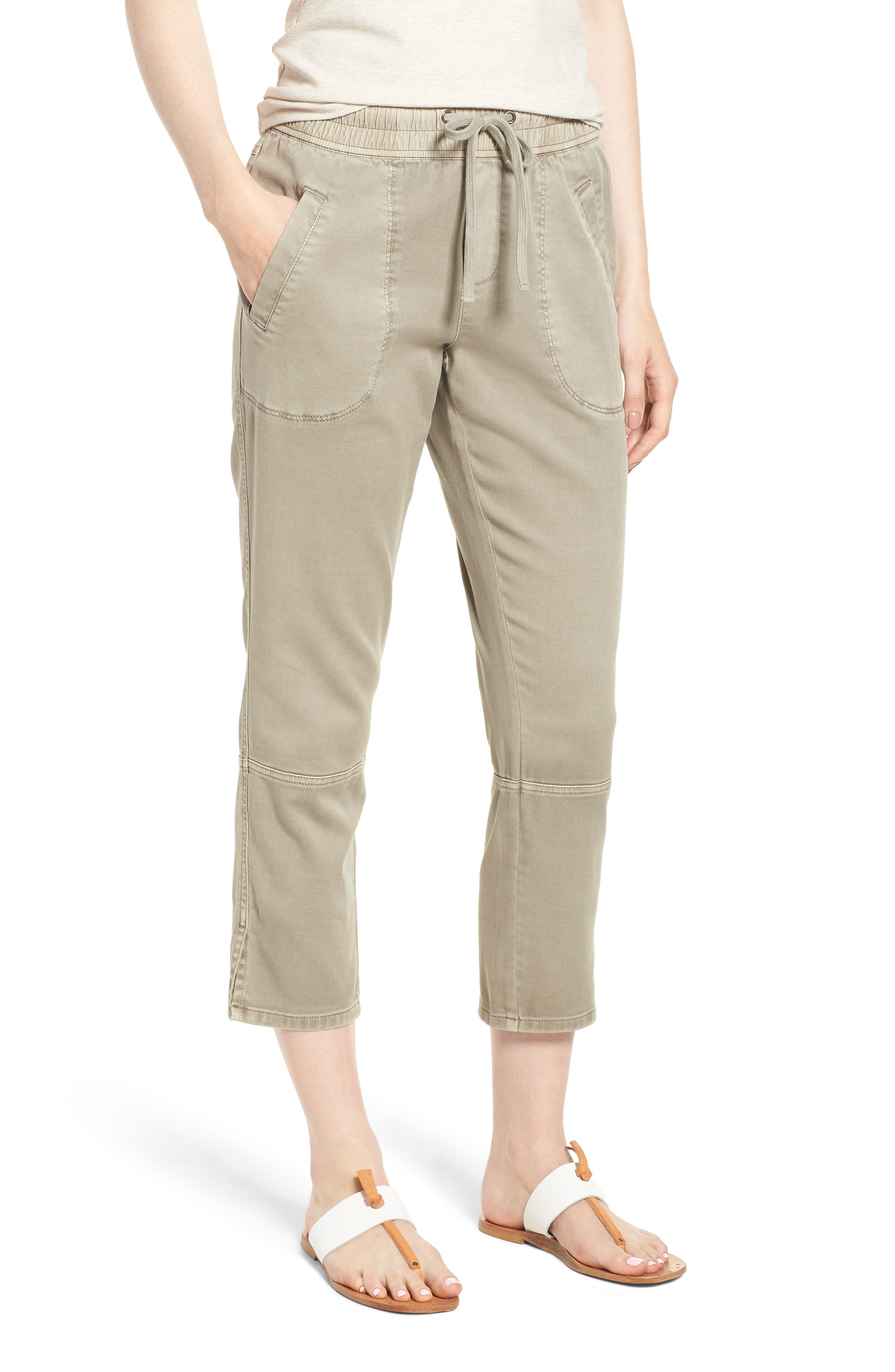 Open Road Ankle Pants,                         Main,                         color, FLAX