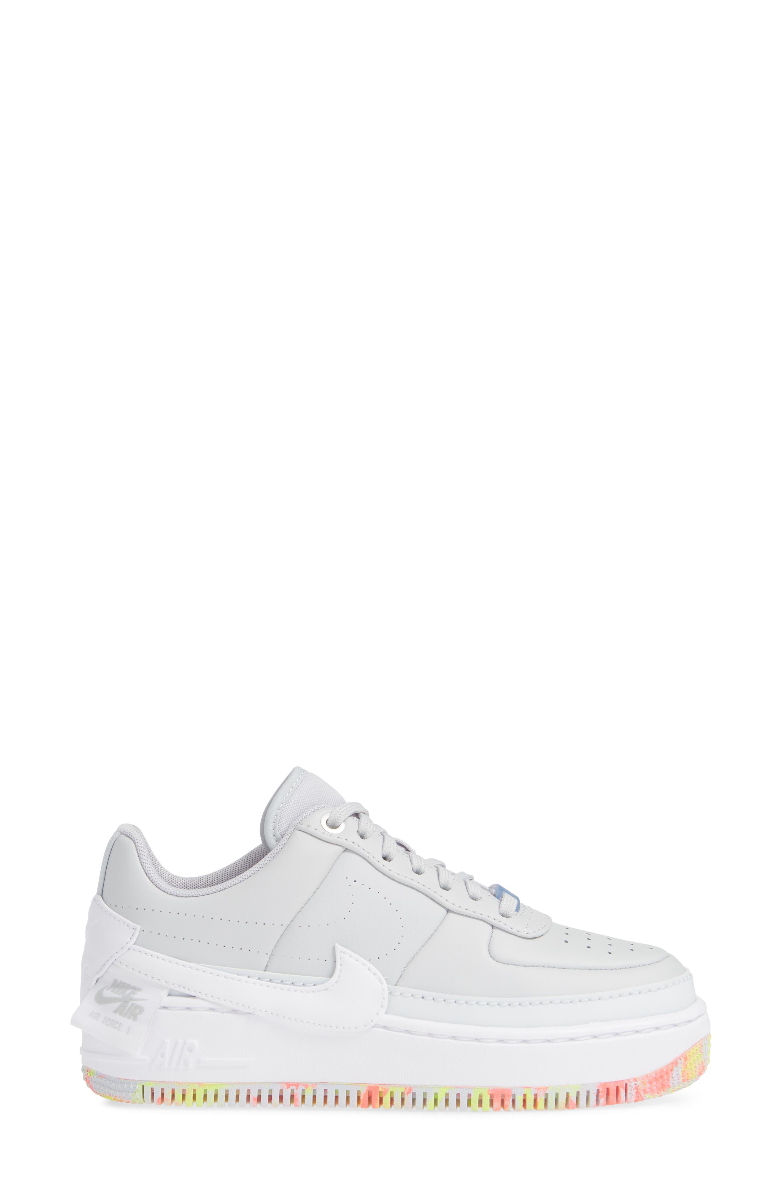 Air Force 1 Jester XX Print Sneaker,                             Alternate thumbnail 3, color,                             020