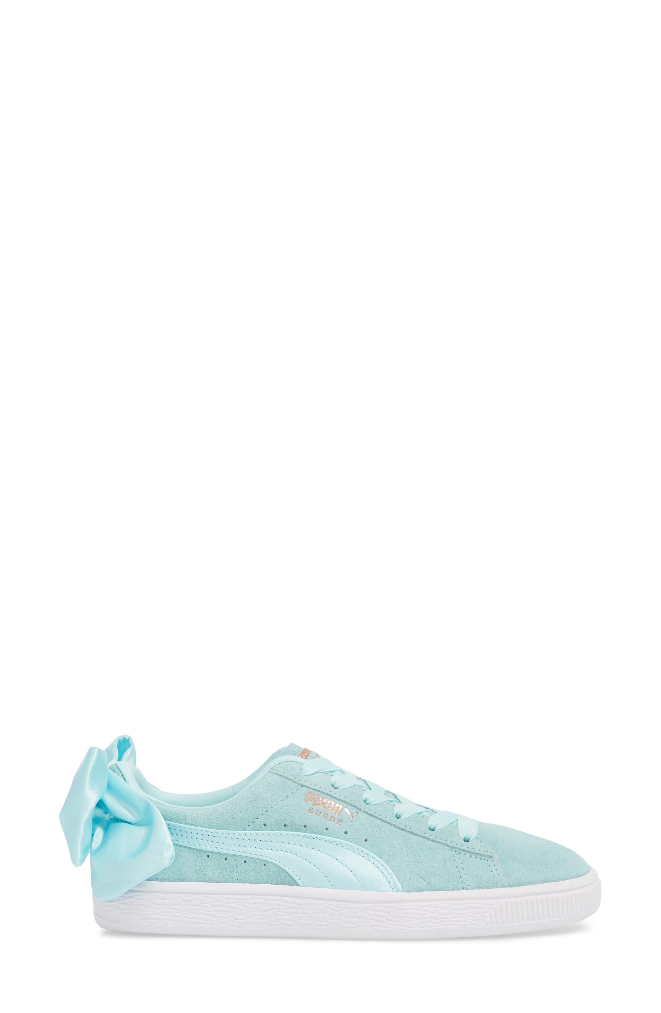 Bow Sneaker,                             Alternate thumbnail 8, color,