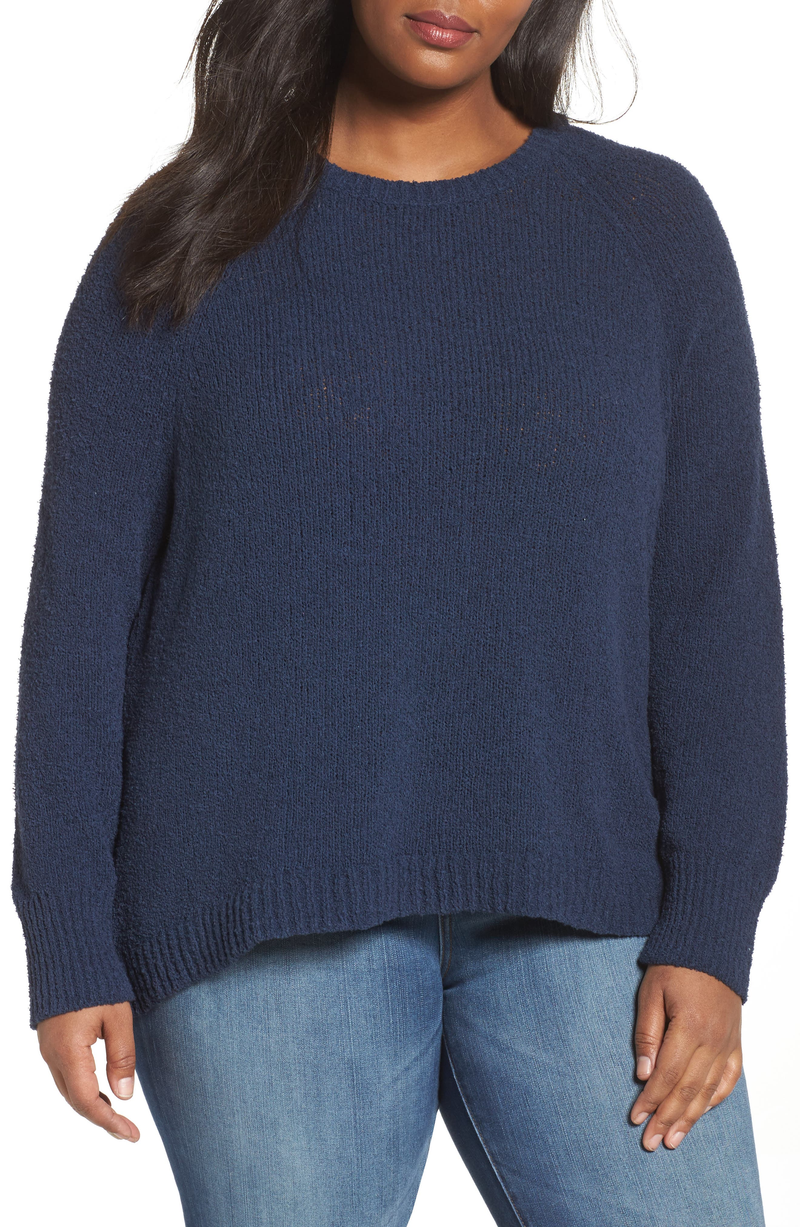 Relaxed Crewneck Sweater,                             Main thumbnail 2, color,