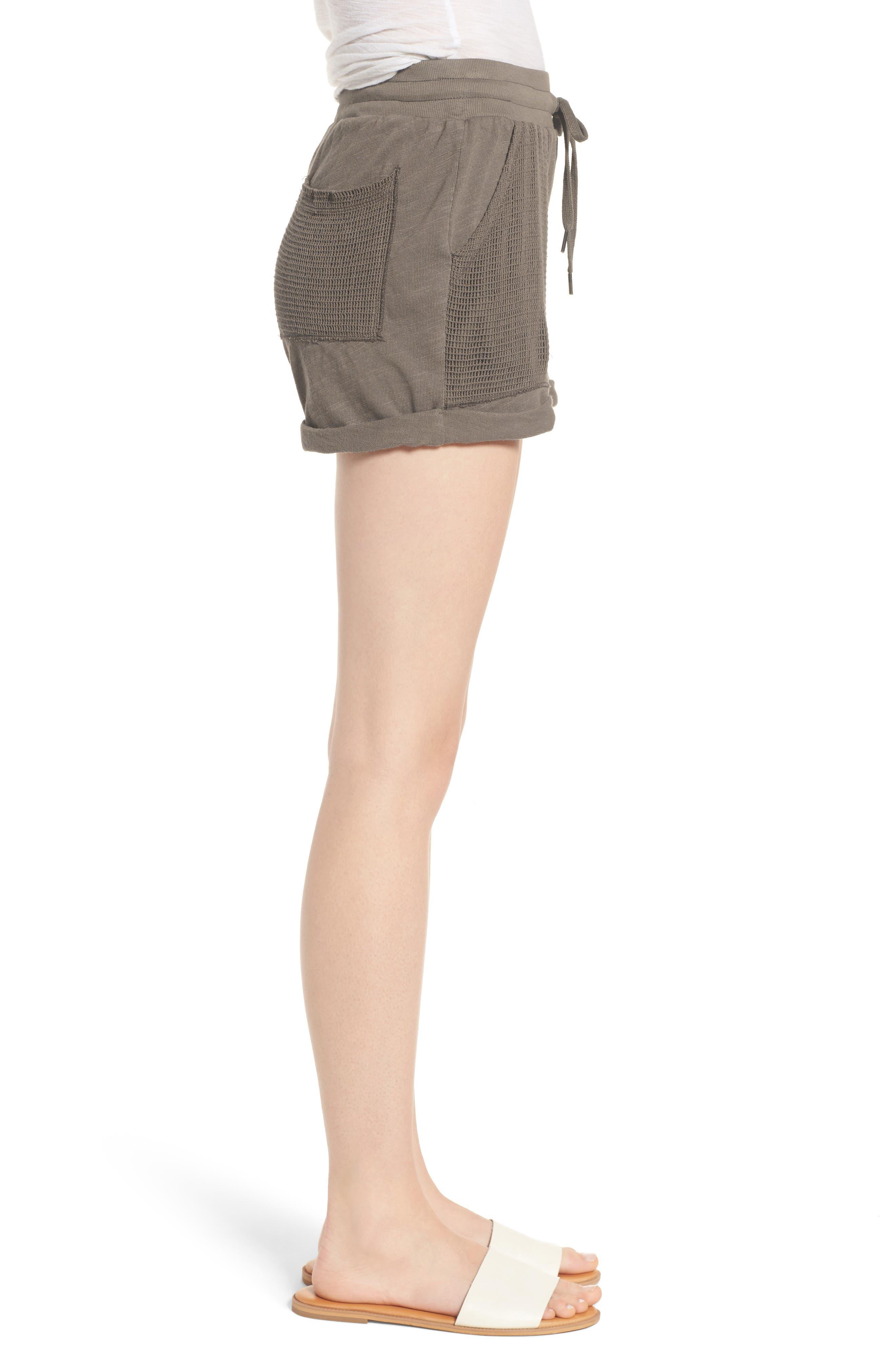 Knit Shorts,                             Alternate thumbnail 6, color,