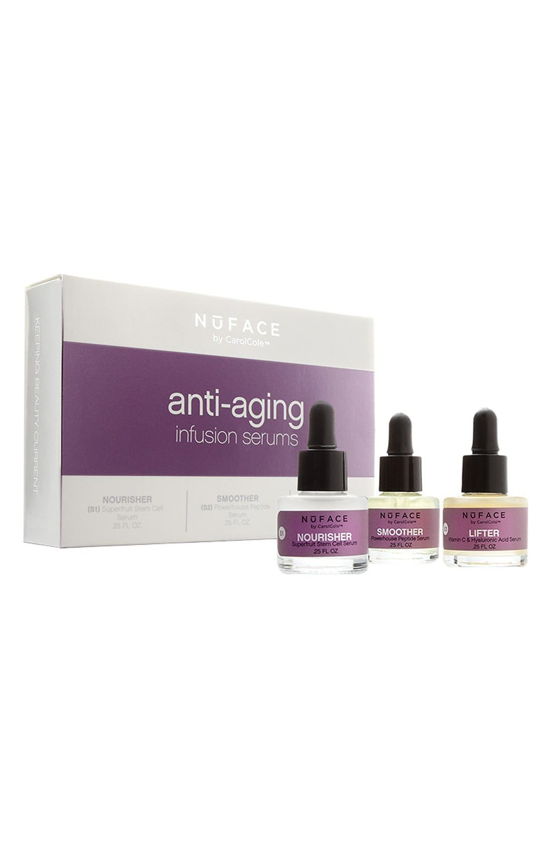 'Anti Aging Infusion' Serum Trio,                             Main thumbnail 1, color,                             000