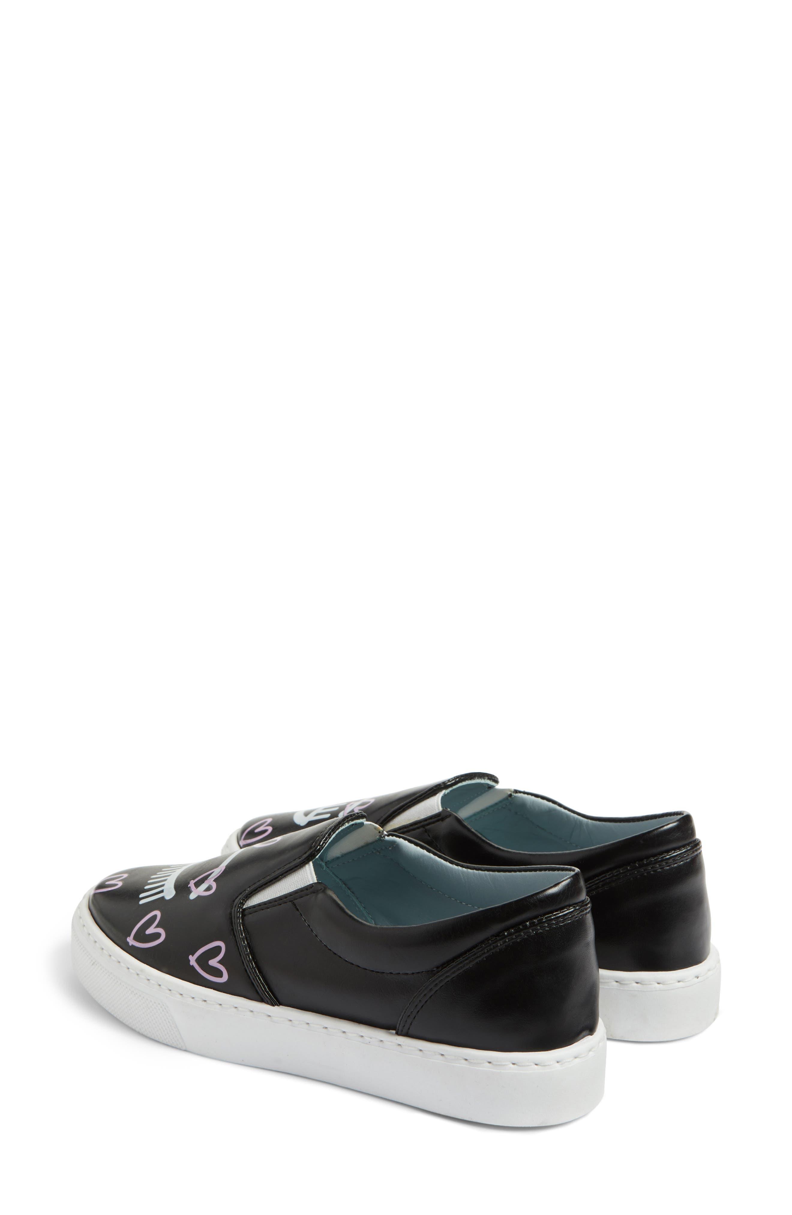 Candy Flirting Slip-On Sneaker,                             Alternate thumbnail 3, color,                             001