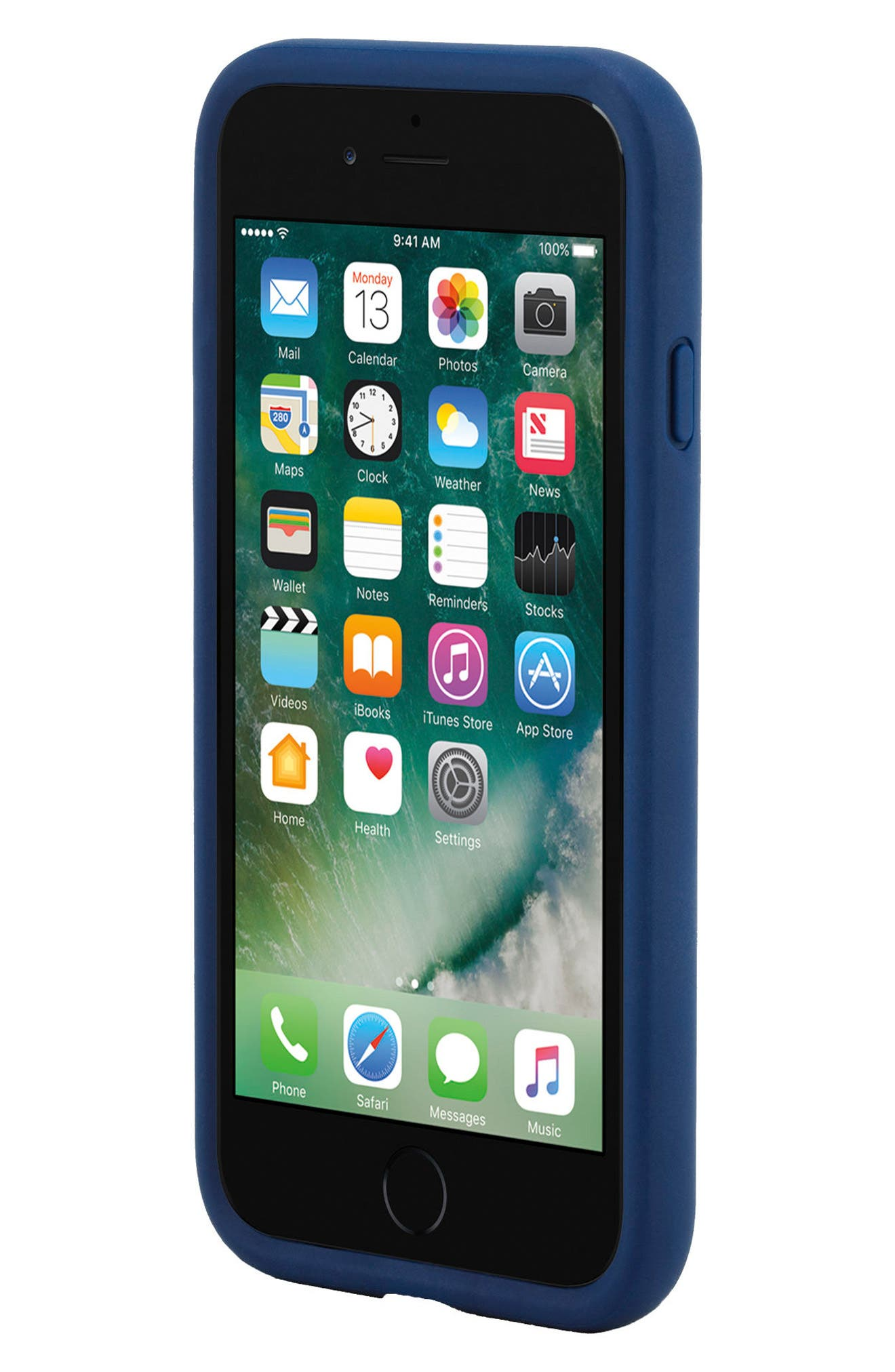 Icon iPhone 7 & 8 Case,                             Alternate thumbnail 5, color,                             NAVY