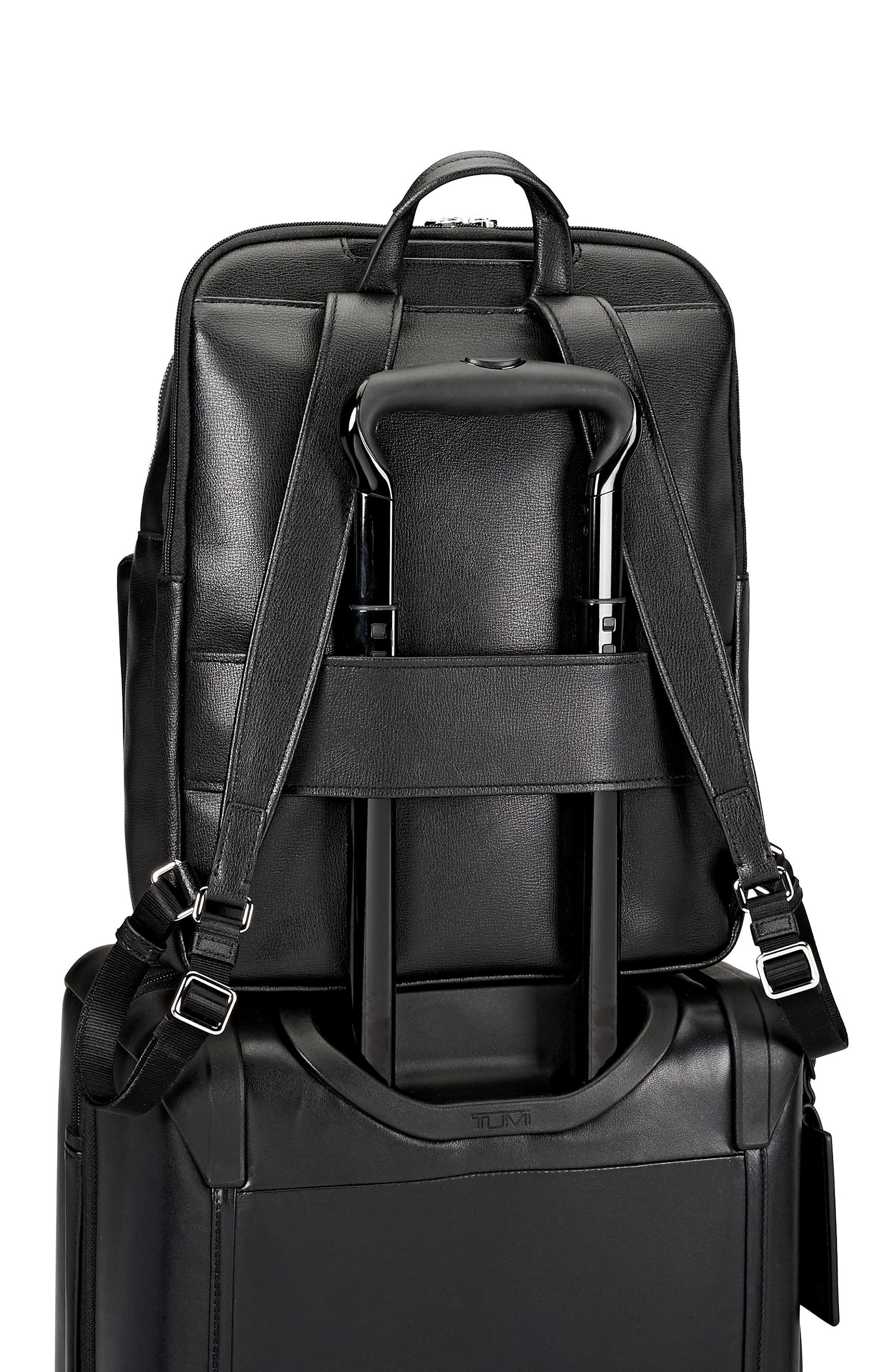 Stanton Hettie Leather Backpack,                             Alternate thumbnail 11, color,
