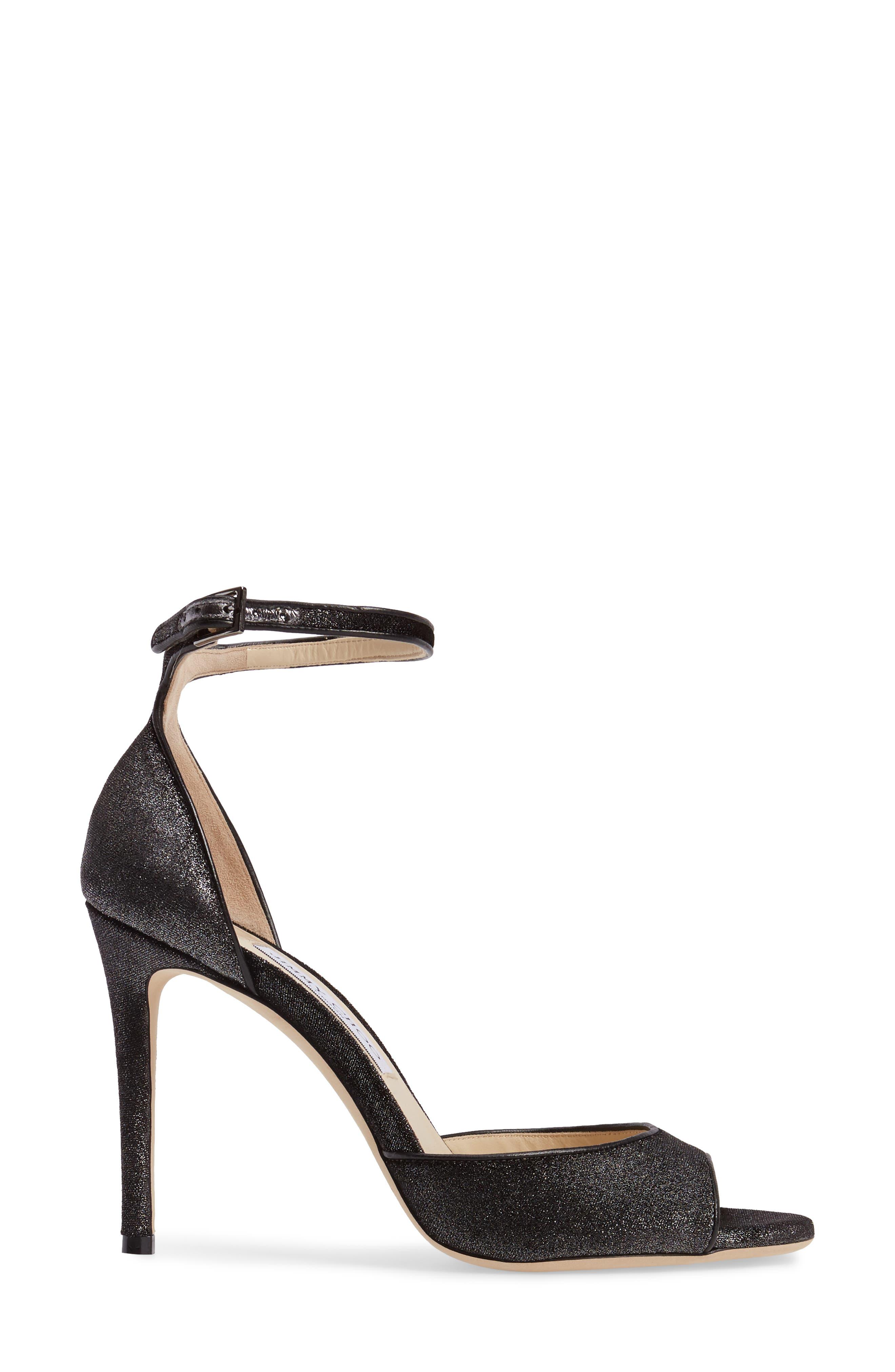 Annie Ankle Strap Sandal,                             Alternate thumbnail 3, color,                             042