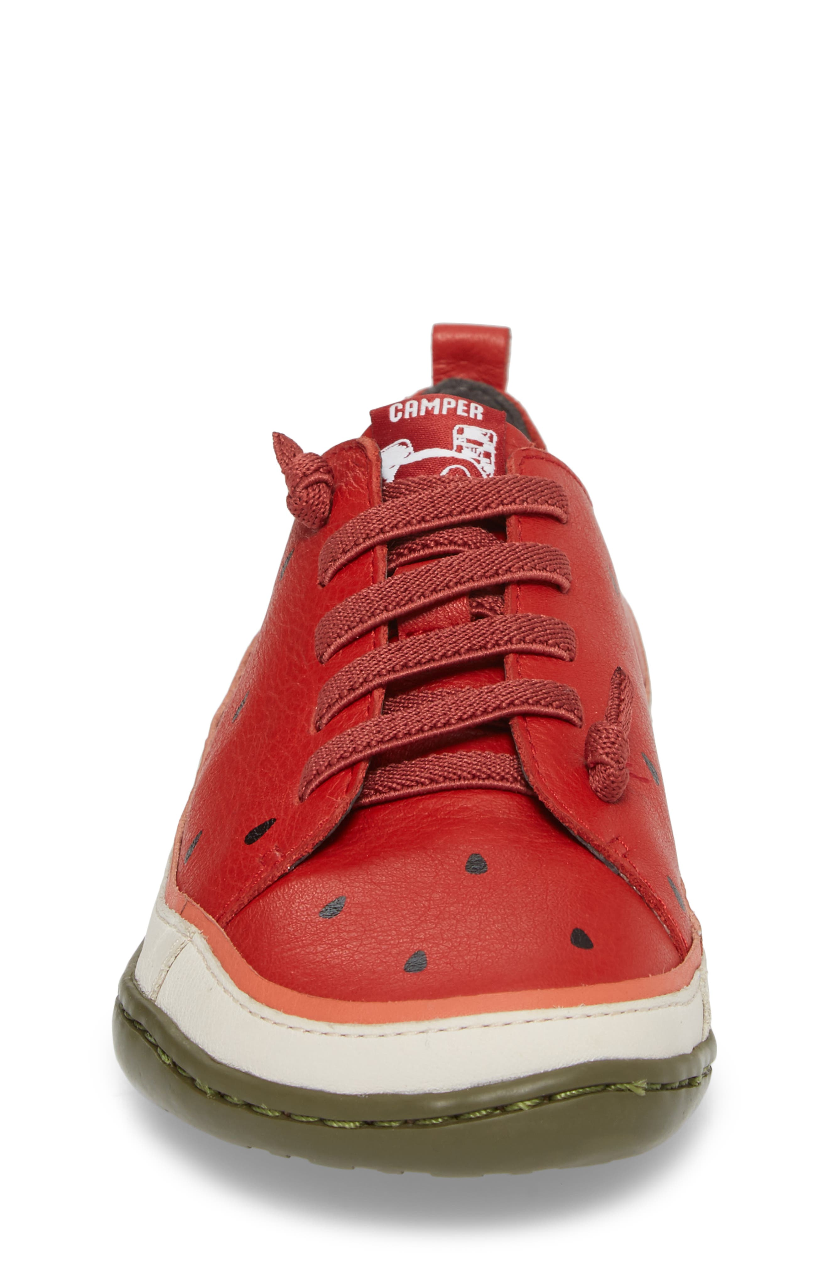 Twins Watermelon Sneaker,                             Alternate thumbnail 4, color,                             600