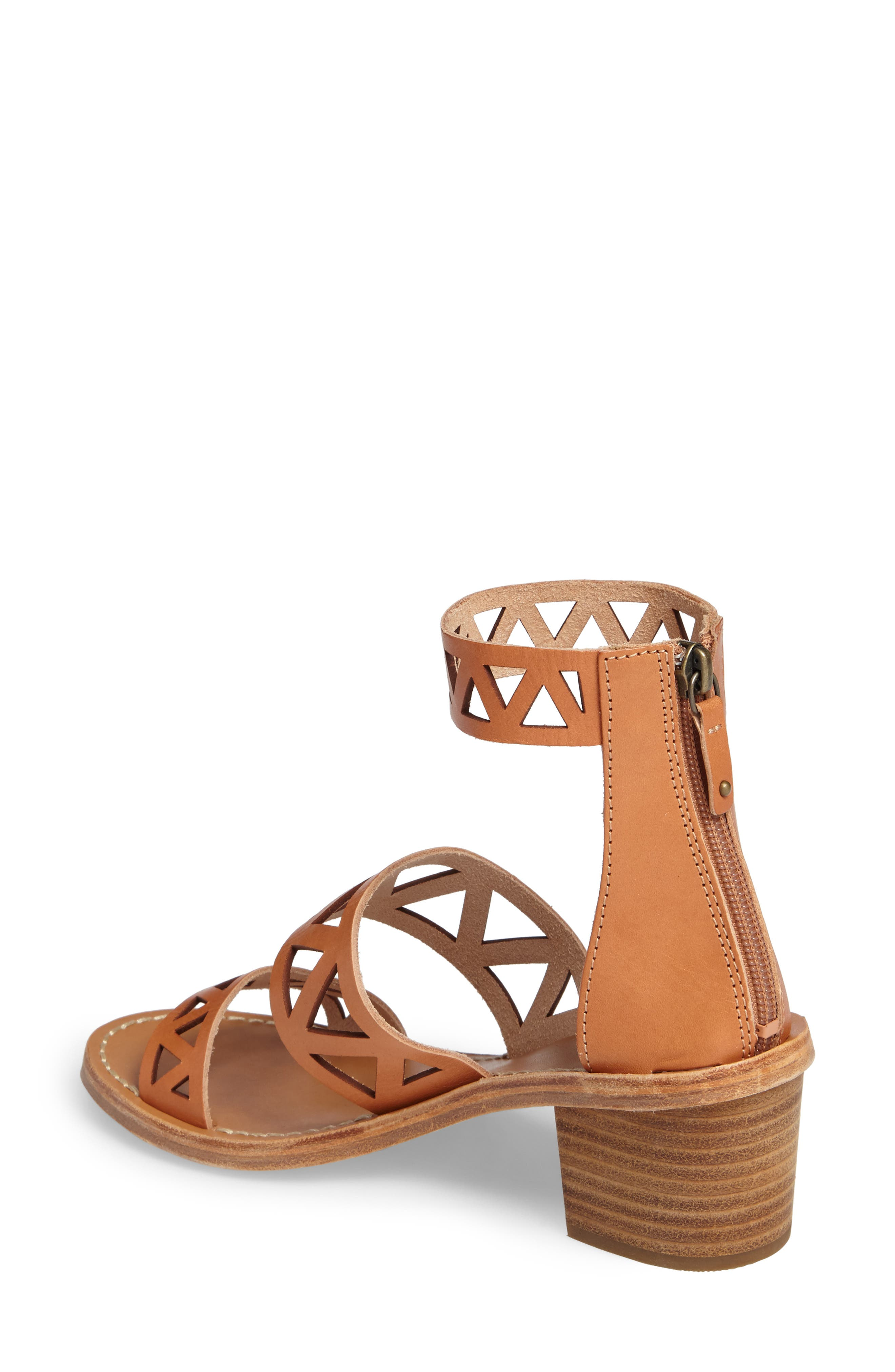 Perforated Ankle Strap Sandal,                             Alternate thumbnail 2, color,                             200
