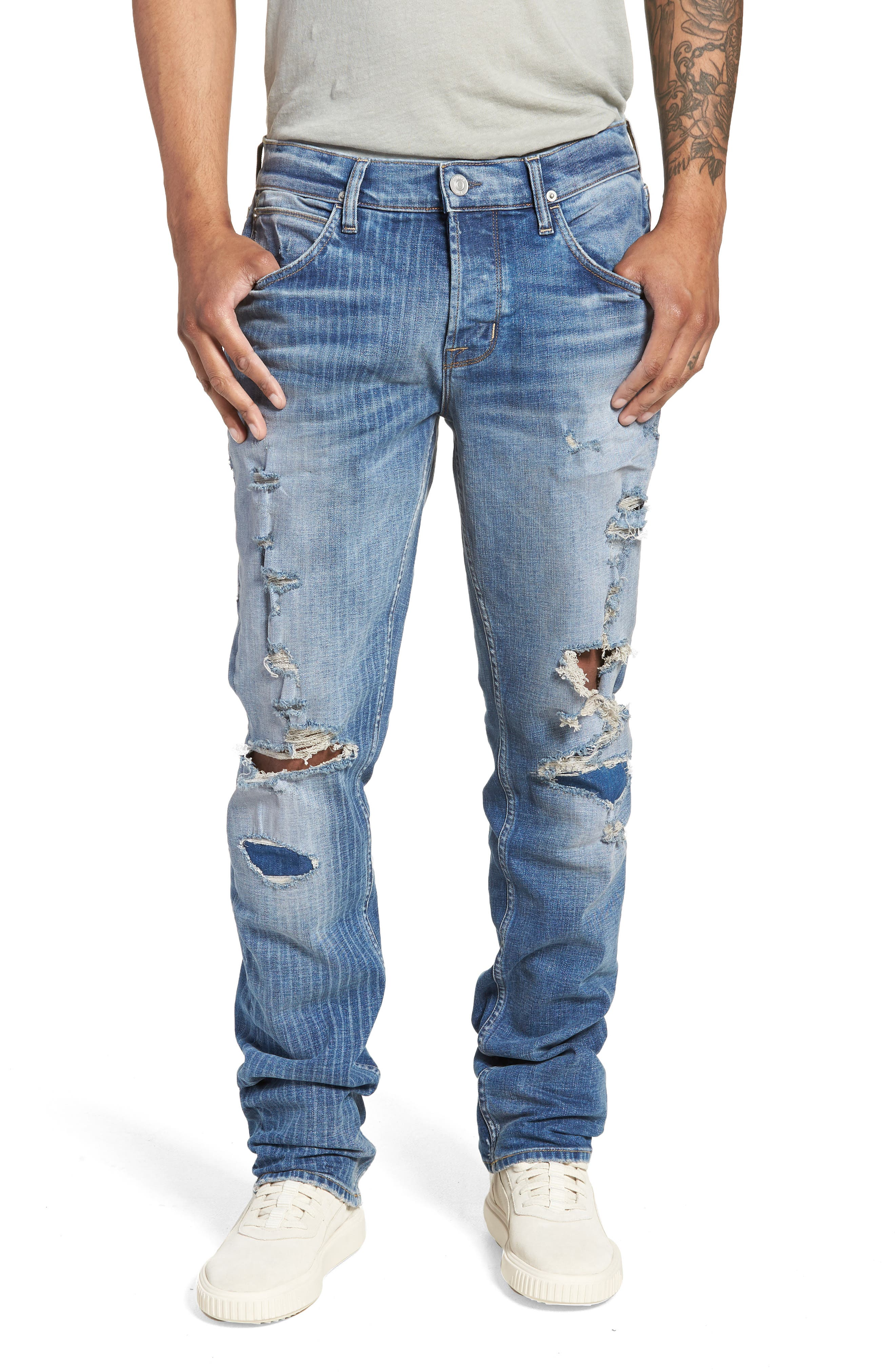 Blake Slim Fit Jeans,                         Main,                         color, 421