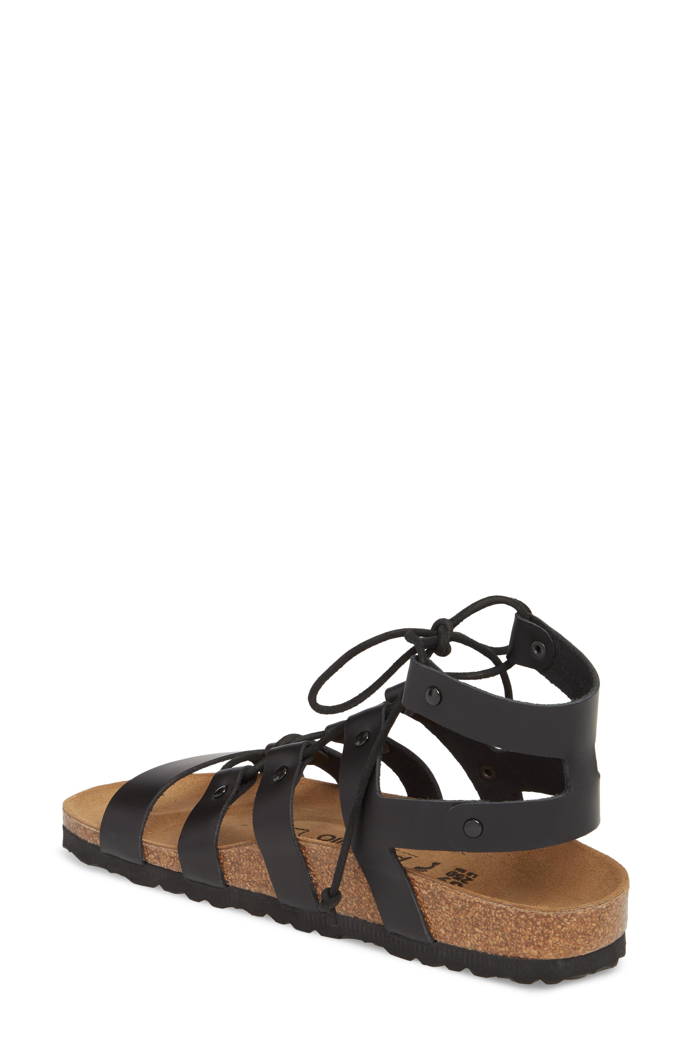 Papillio by Birkenstock Cleo Gladiator Sandal,                             Alternate thumbnail 2, color,                             001