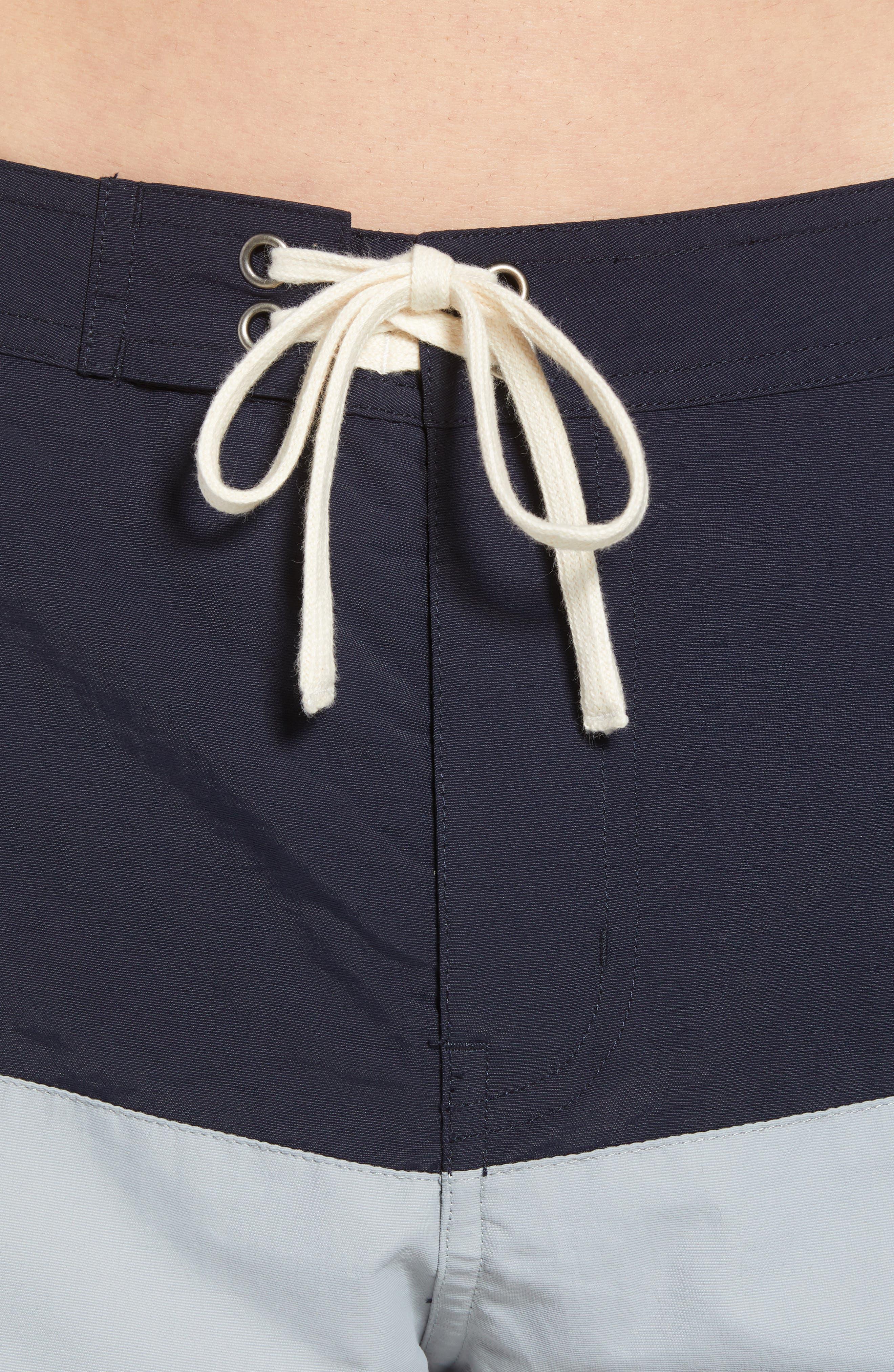 Ennis Board Shorts,                             Alternate thumbnail 4, color,                             MIDNIGHT/ STONE BLUE