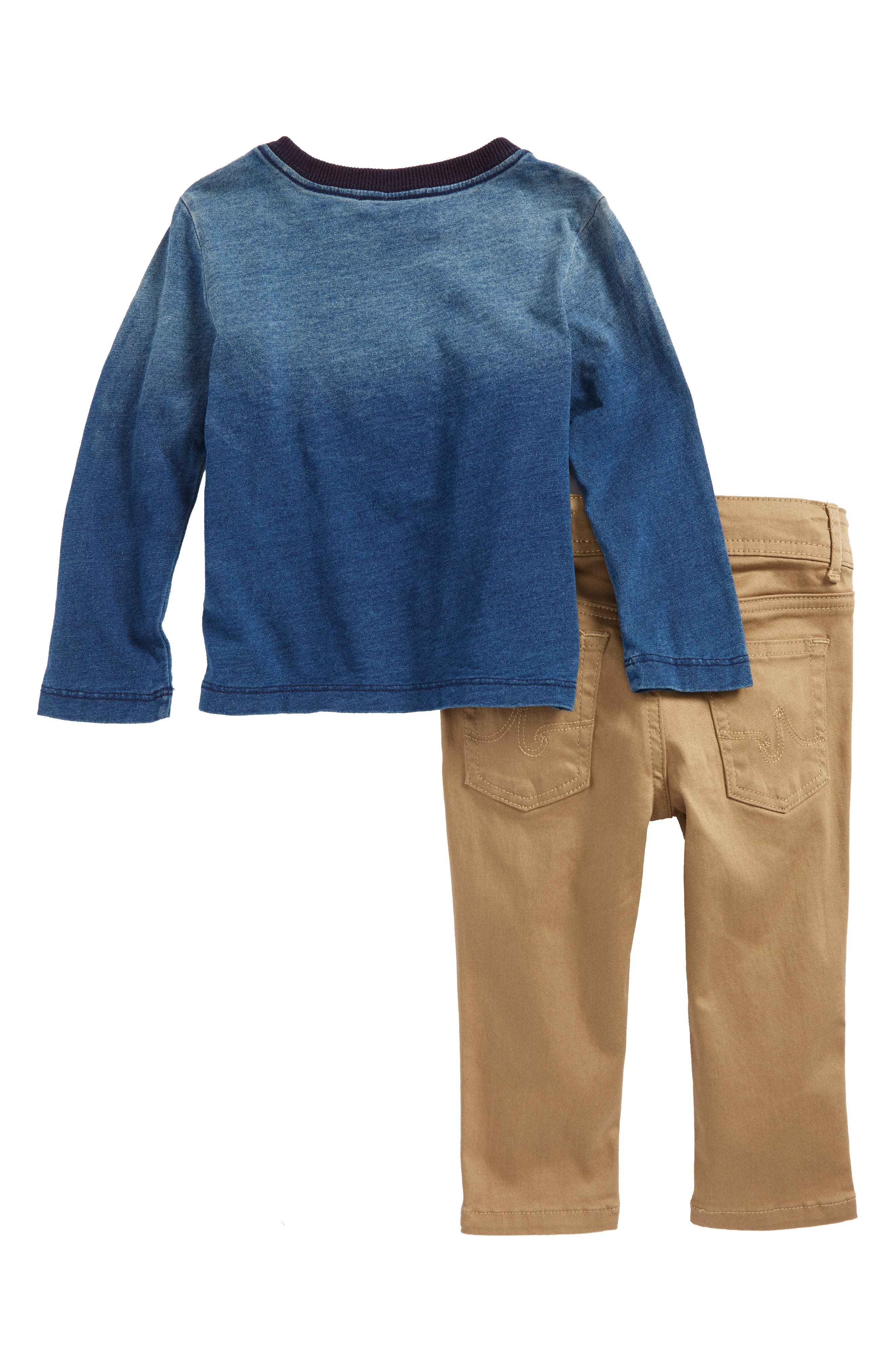 T-Shirt & Pants Set,                             Alternate thumbnail 2, color,                             400
