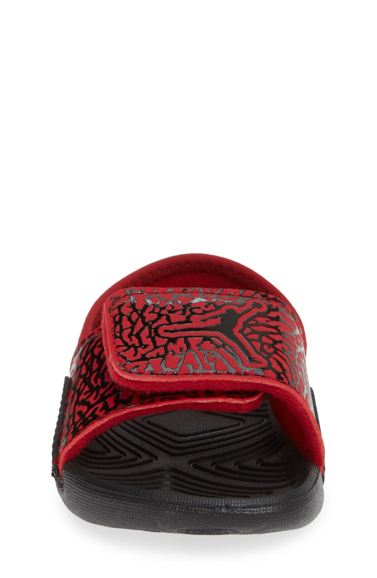 Hydro 7 V2 Sandal,                             Alternate thumbnail 4, color,                             GYM RED/ BLACK 2